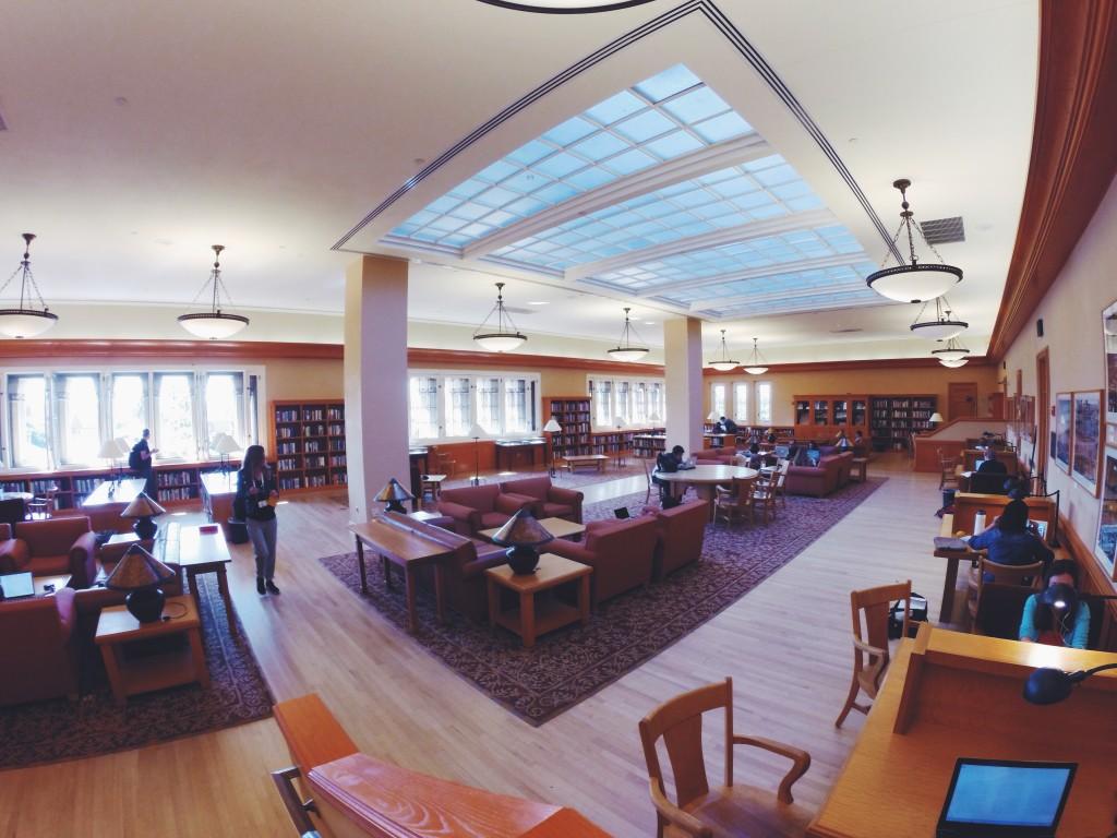 Biblioteca a Stanford