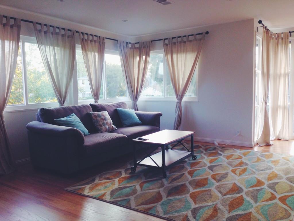 La mia casa a Menlo Park - Il soggiorno