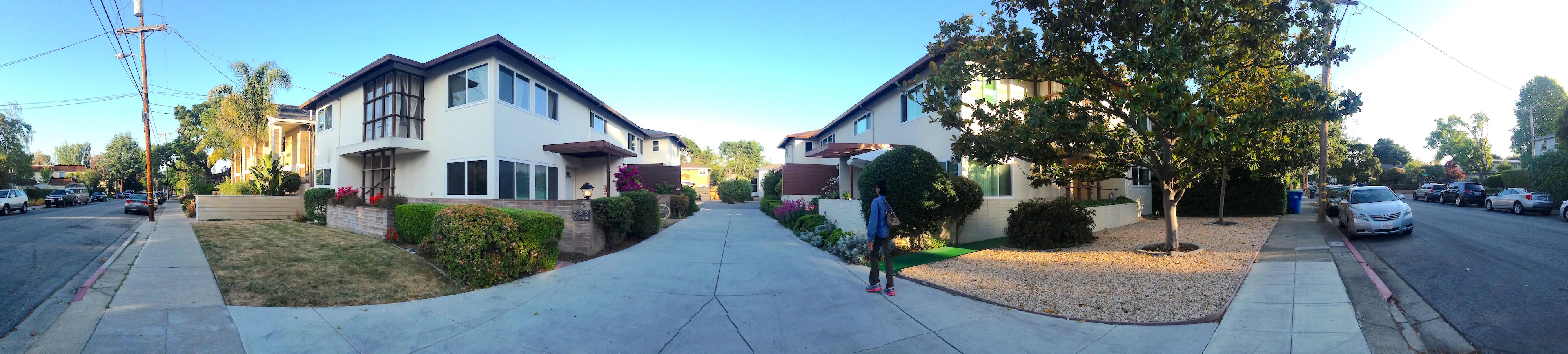 La mia casa a Menlo Park - la strada