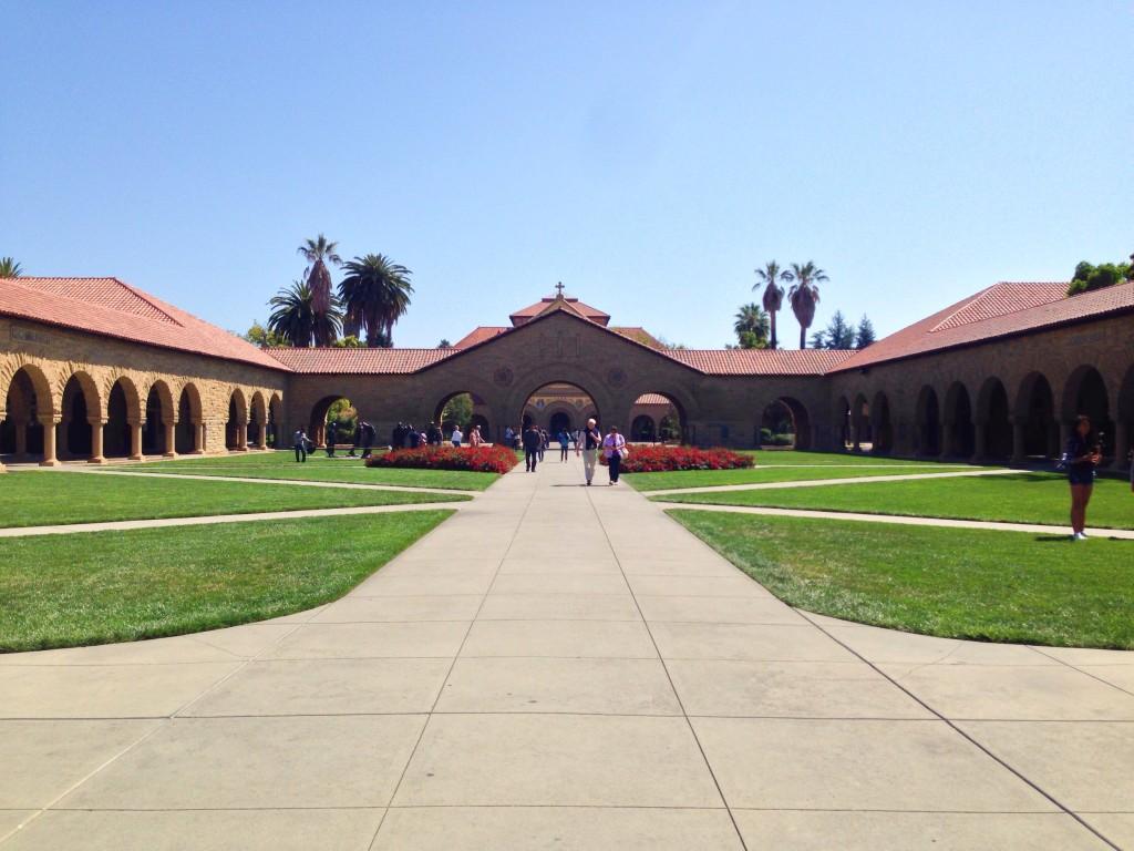 L'ingresso di Stanford