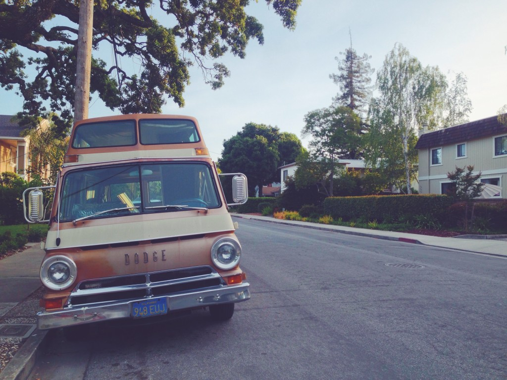 Tipica-macchina-americana-a-Menlo-Park