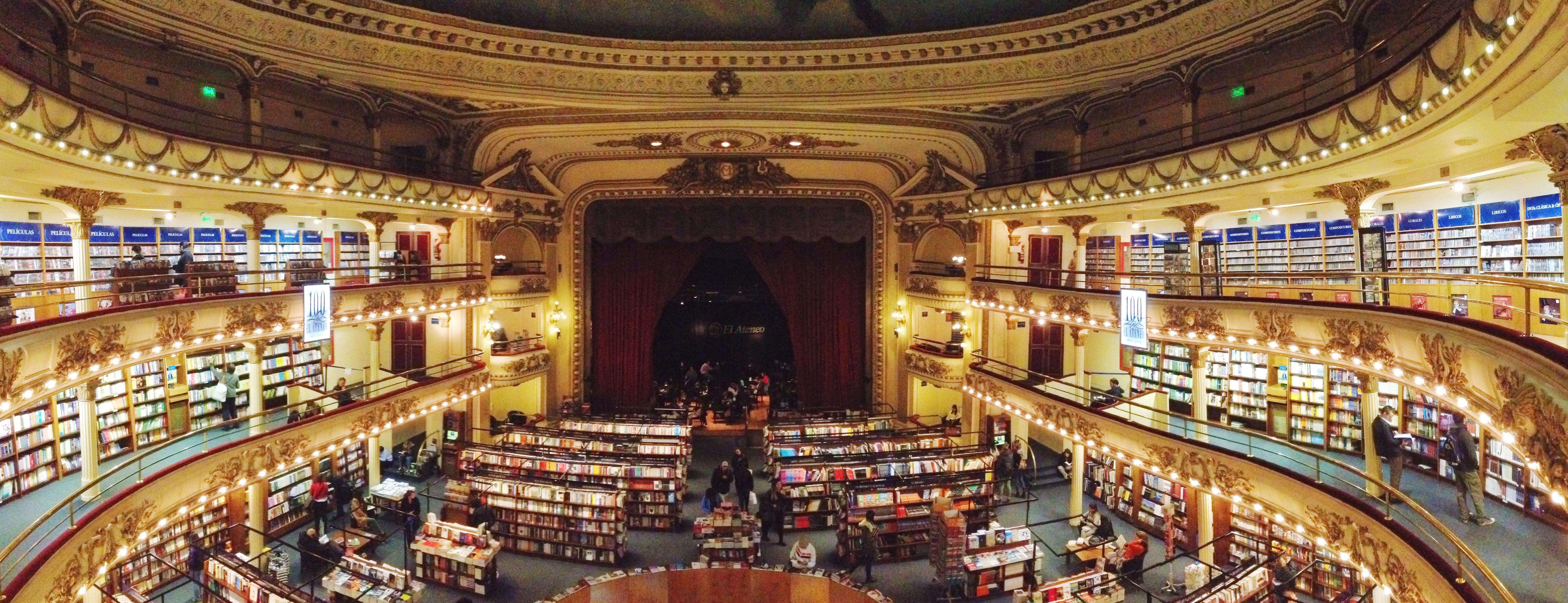 L'Opera di Buenos Aires - una libreria meravigliosa dentro un vecchio teatro