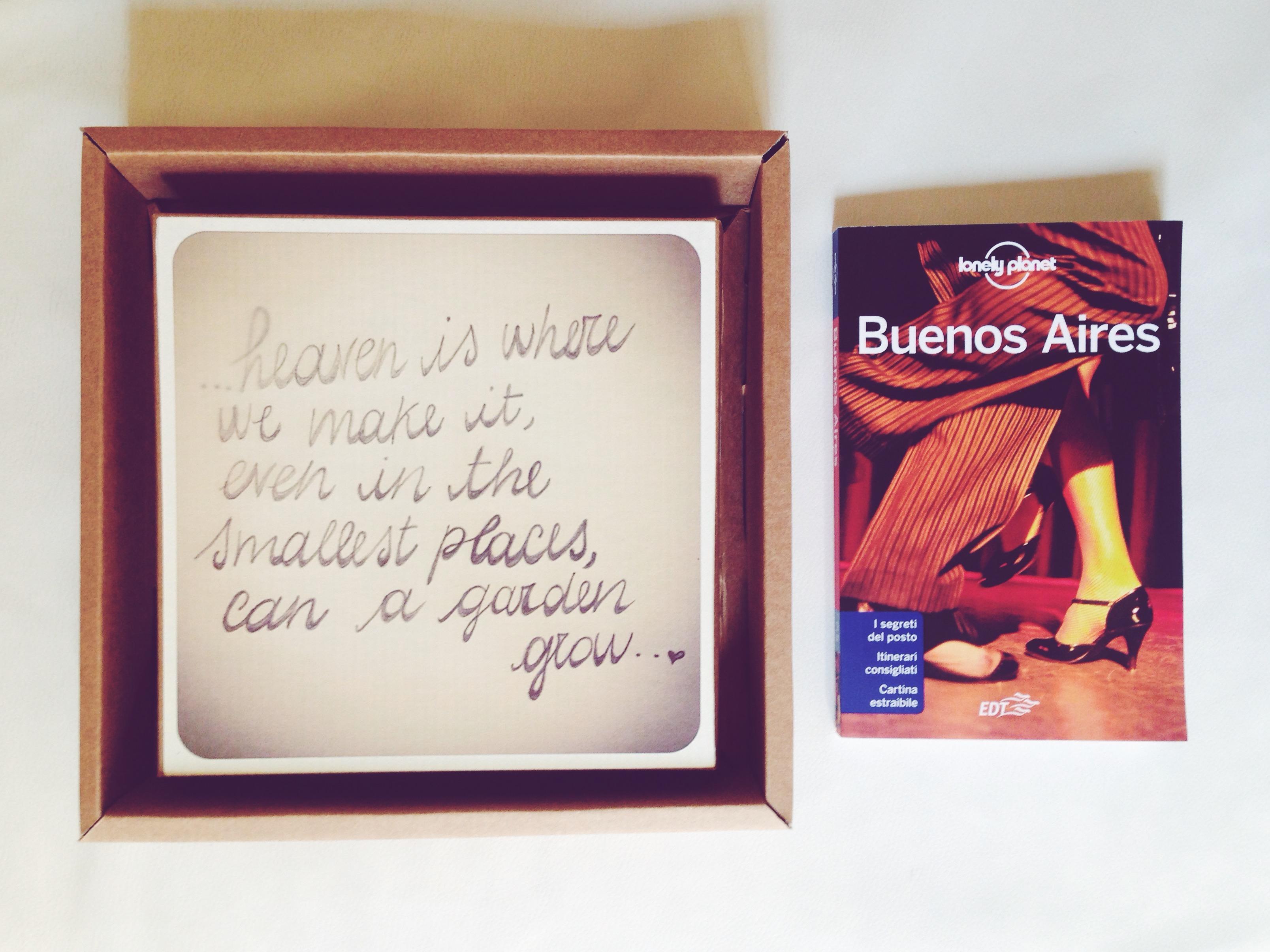 Partire è la più bella e coraggiosa delle azioni. Next stop Argentina!