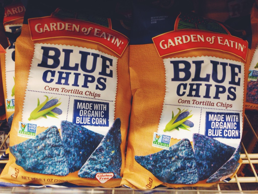 Tortilla chips blu