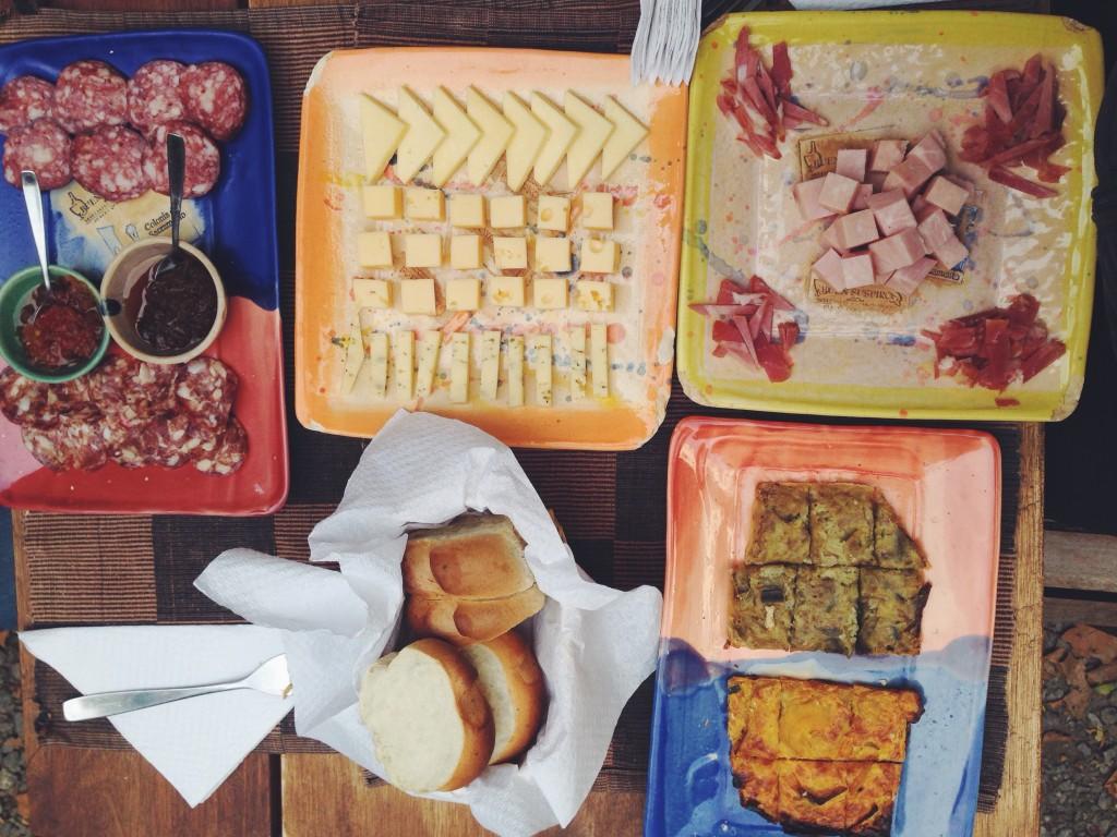 Cibi tipici dell'Uruguay per due sorelle affamate