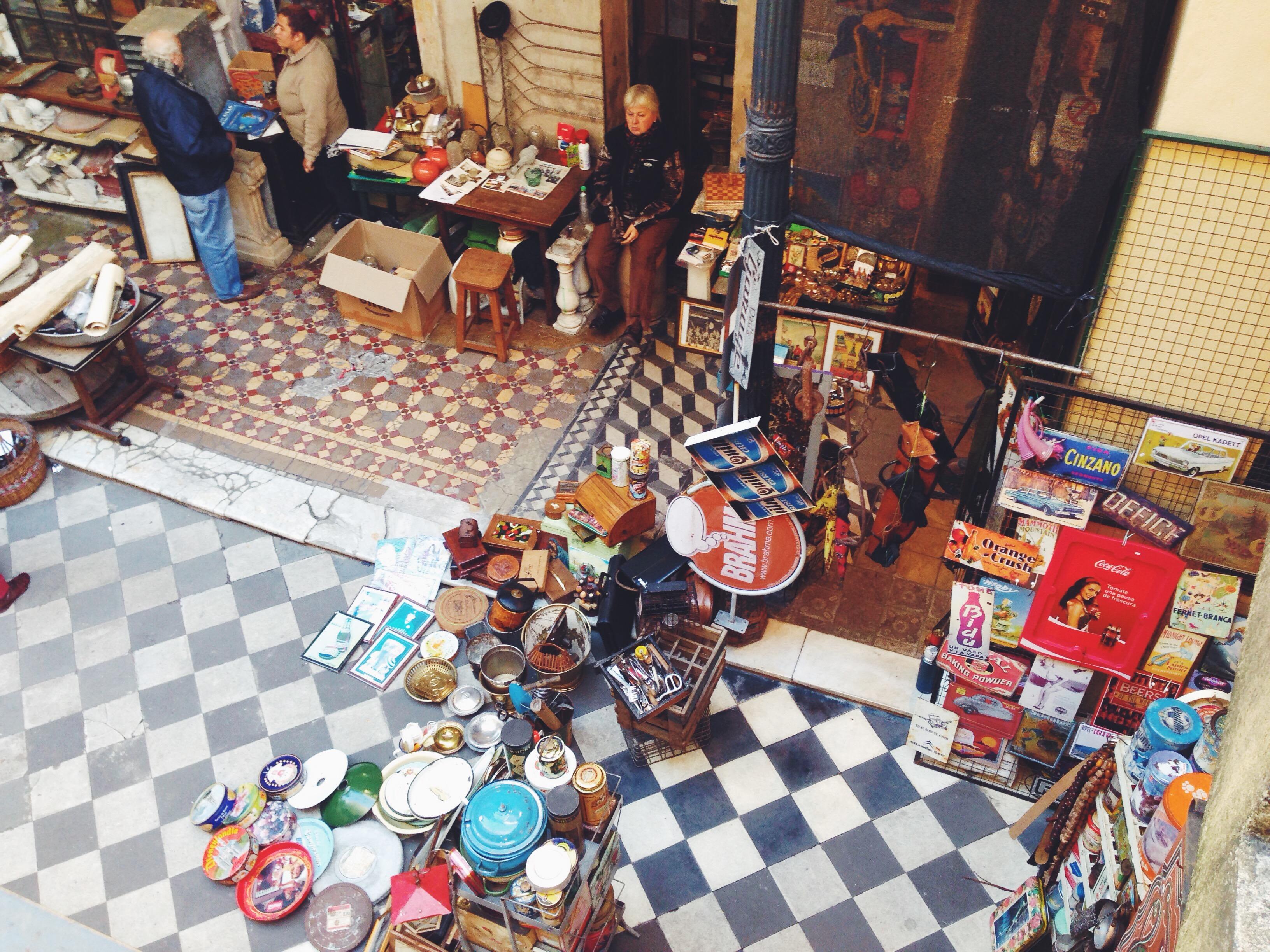 Cosa vedere a Buenos Aires - Il quartiere di San Telmo e i mercatini vintage nel Patio del Tiempo