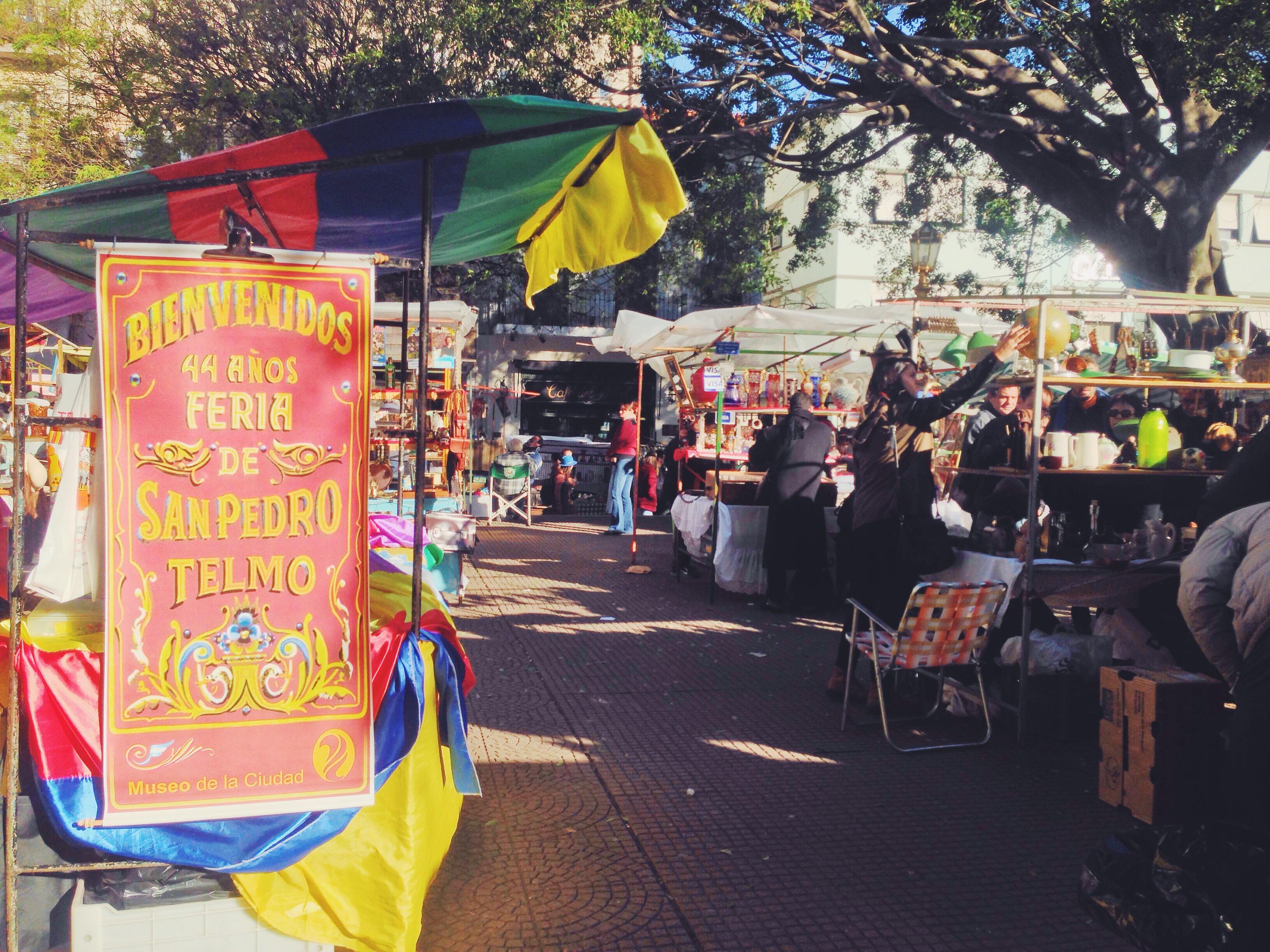 Cosa vedere a Buenos Aires - Il quartiere di San Telmo e la feria della domenica