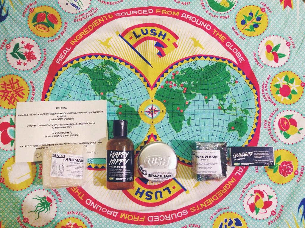 Lush shampo, deodorante e dentifricio solido