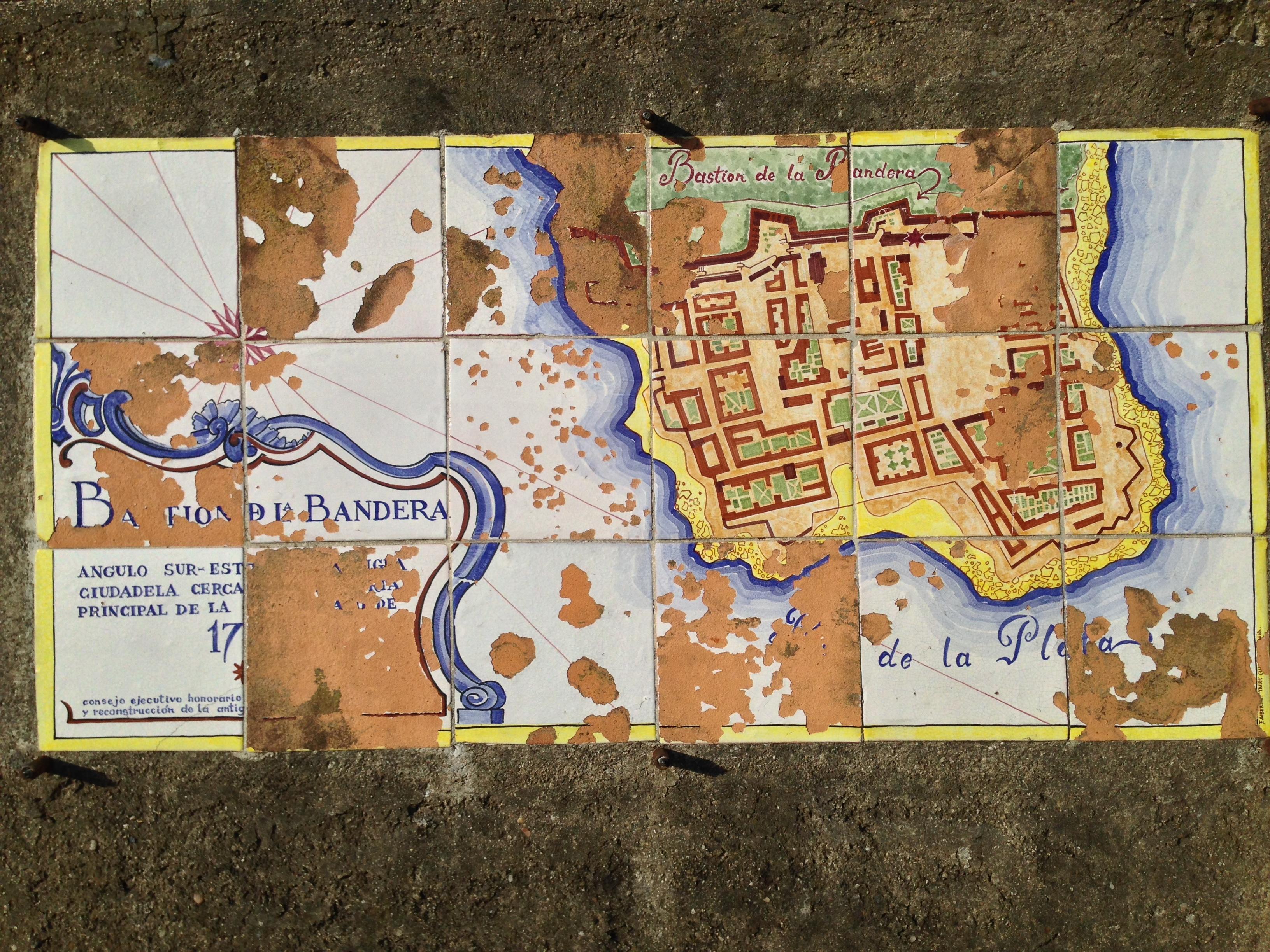 Mappa di Colonia