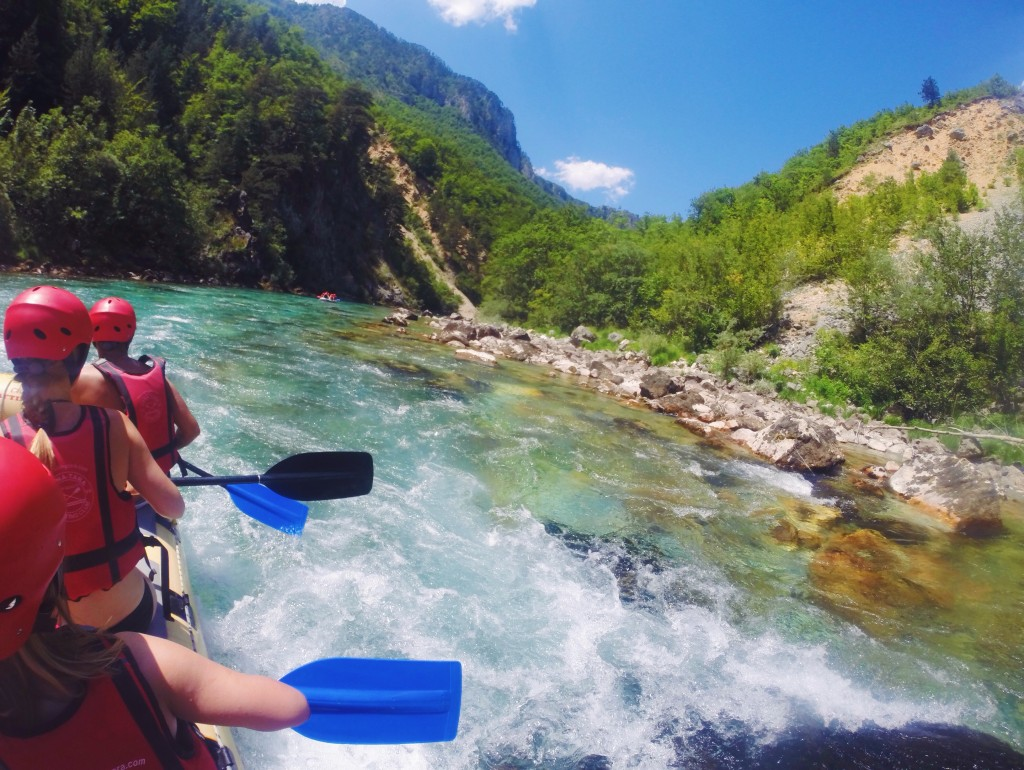 Rafting in Bosnia e Montenegro
