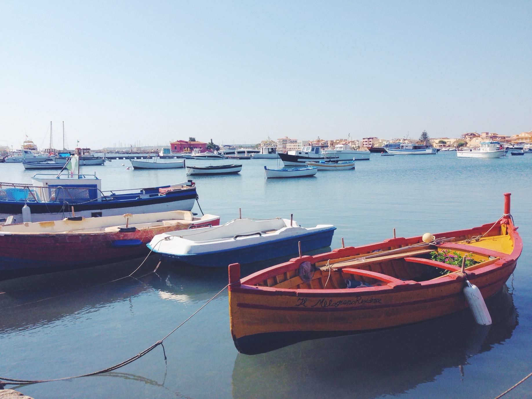 Balata, porto di Marzamemi