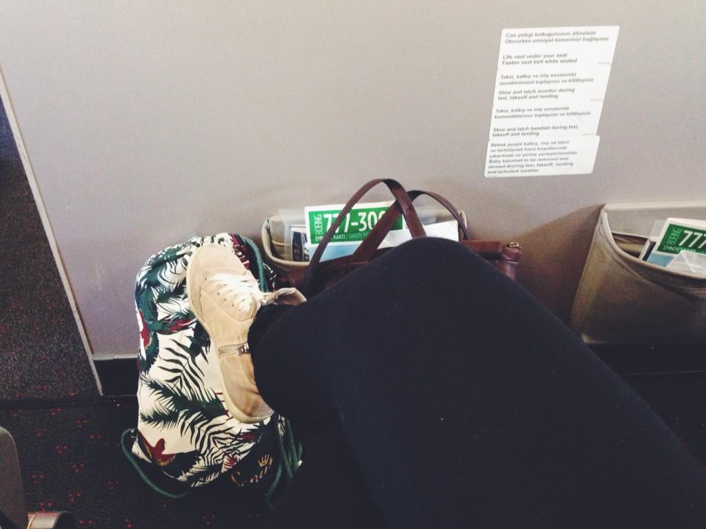 Il posto in aereo