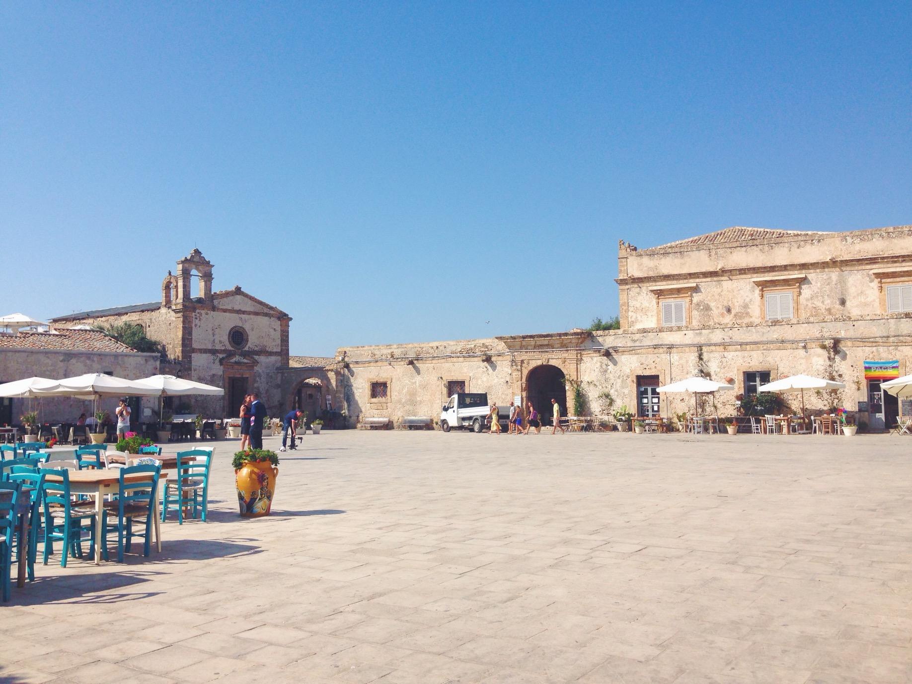 Piazza di Marzamemi
