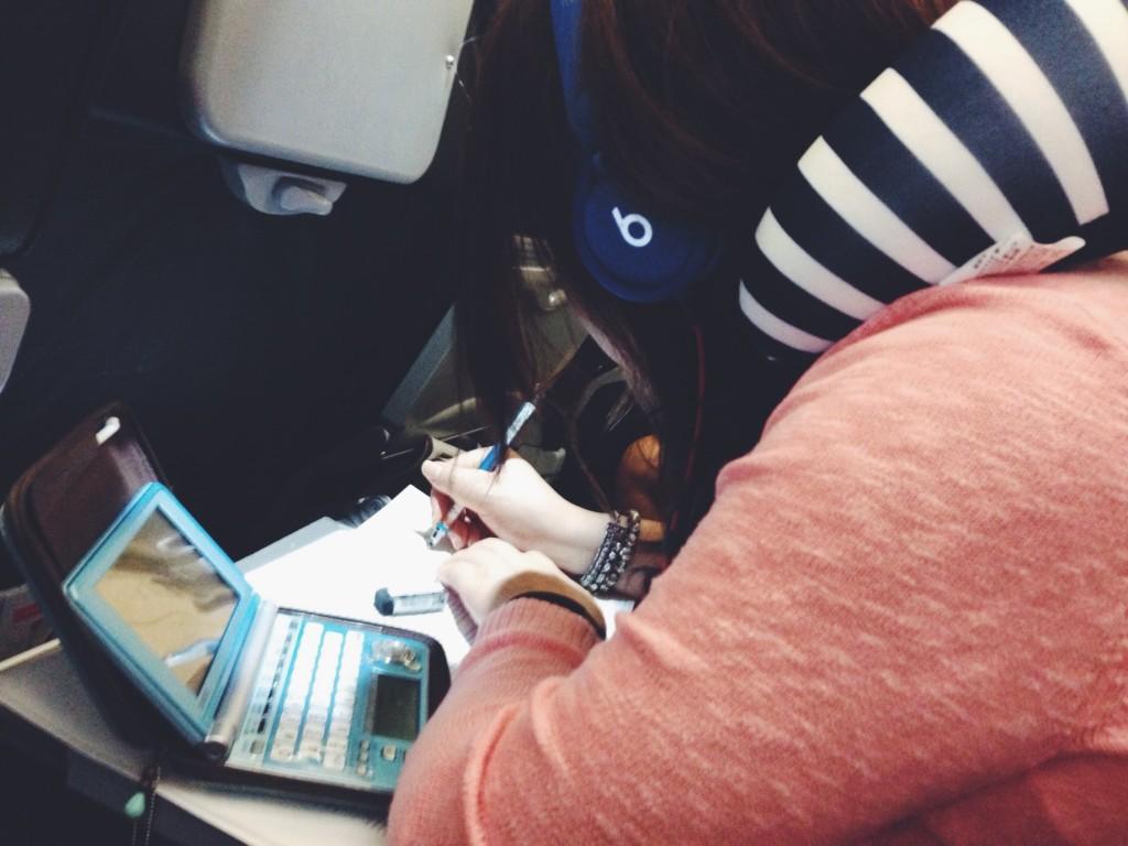 Vicino di posto in aereo