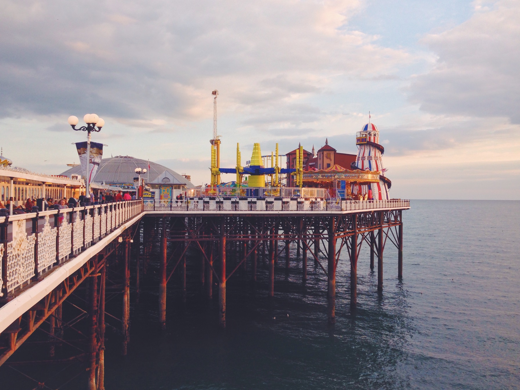 Brighton è un luogo unico nel suo genere, va vista, va vissuta