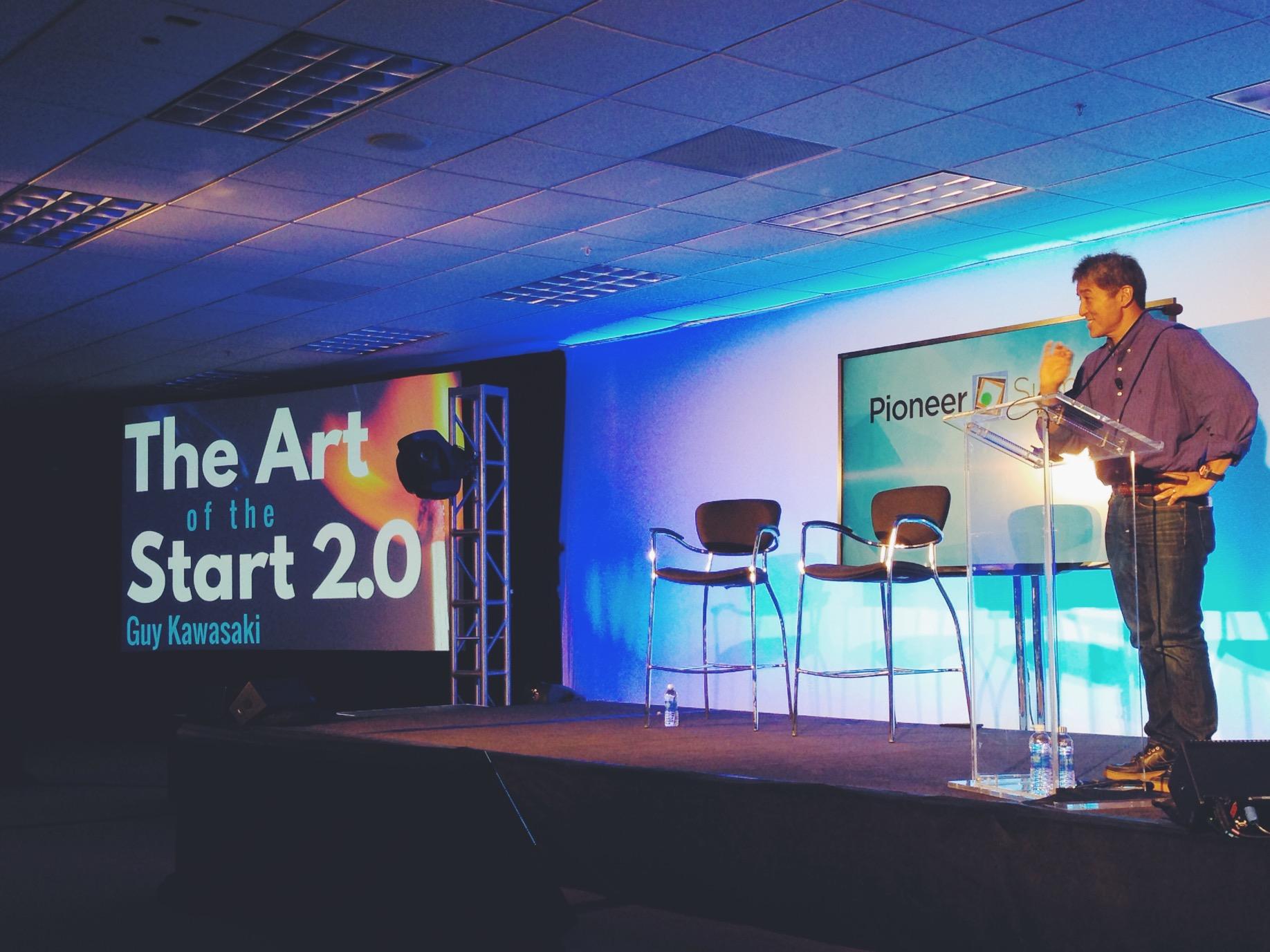 Guy Kawasaki - The art of te start - pioneer summit