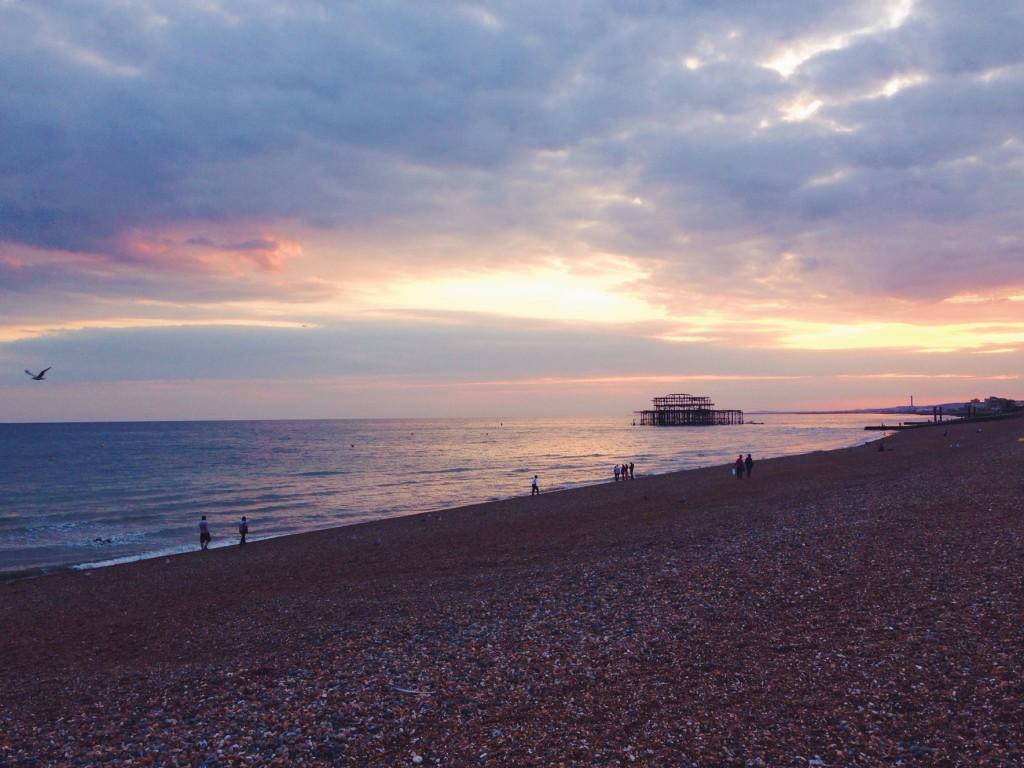 I tramonti di Brighton sono più belli di tutti gli altri