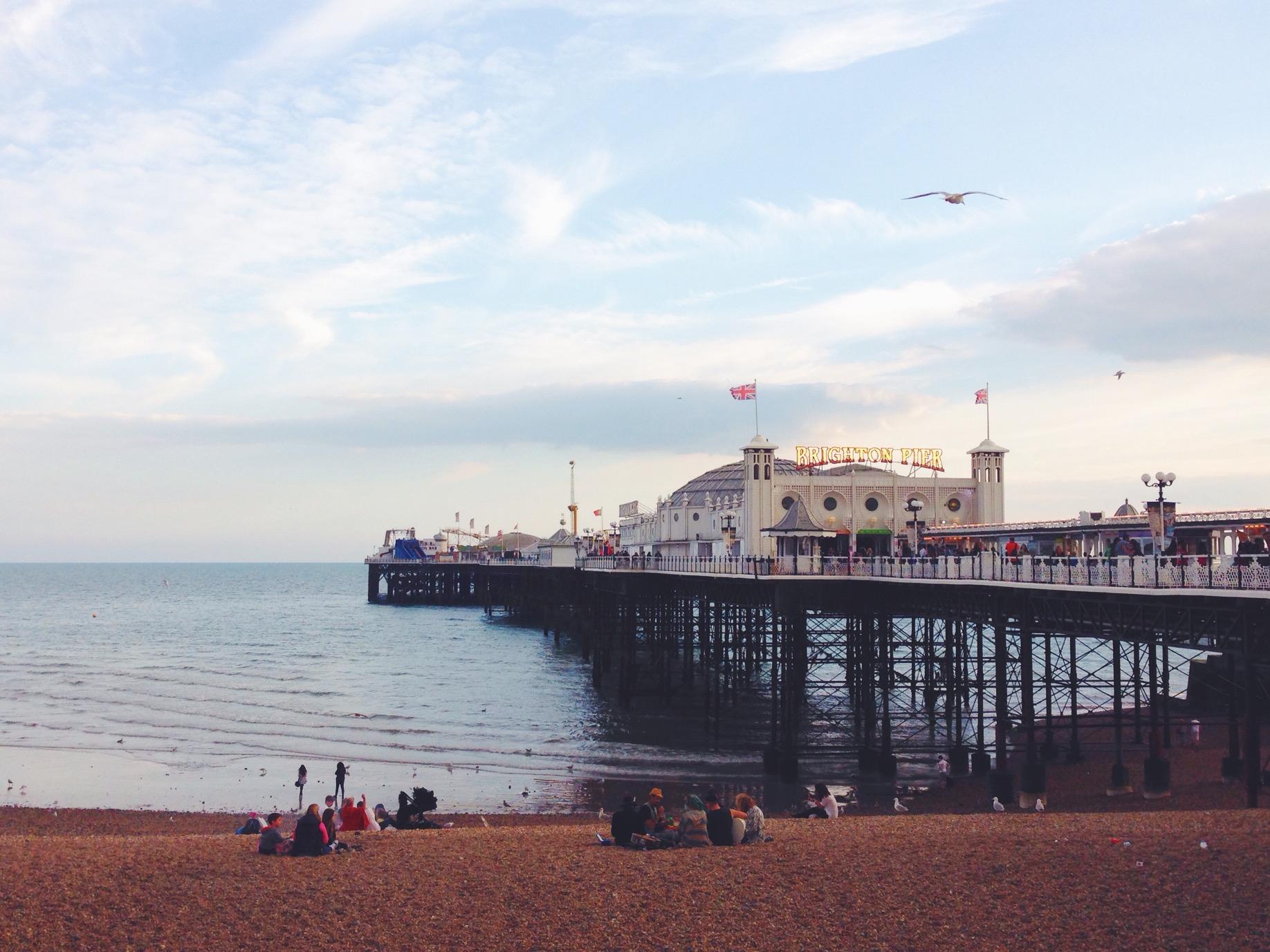 Il Brighton Pier, un luogo incantato