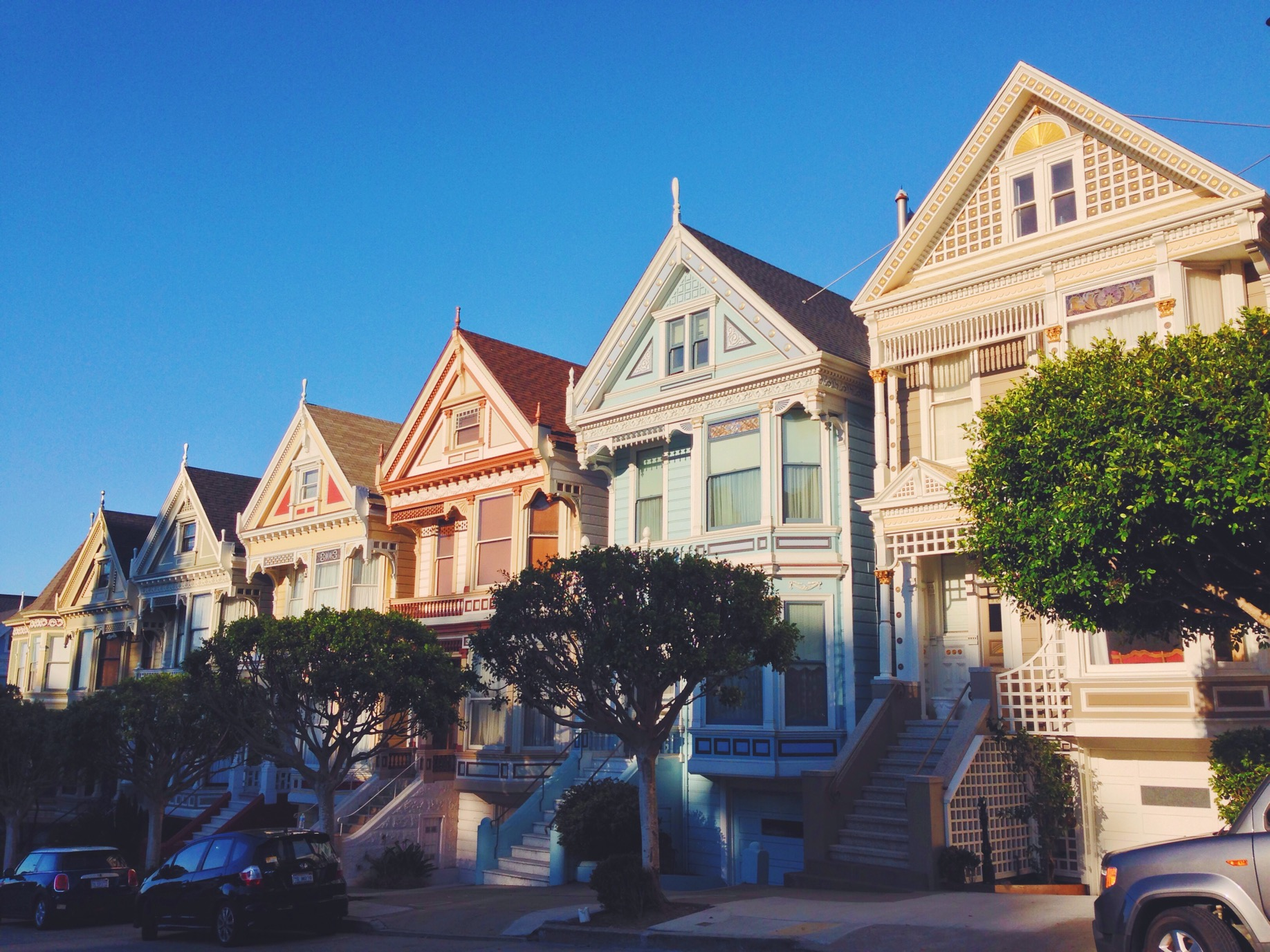 Painted Ladies, le case colorate di San Francisco