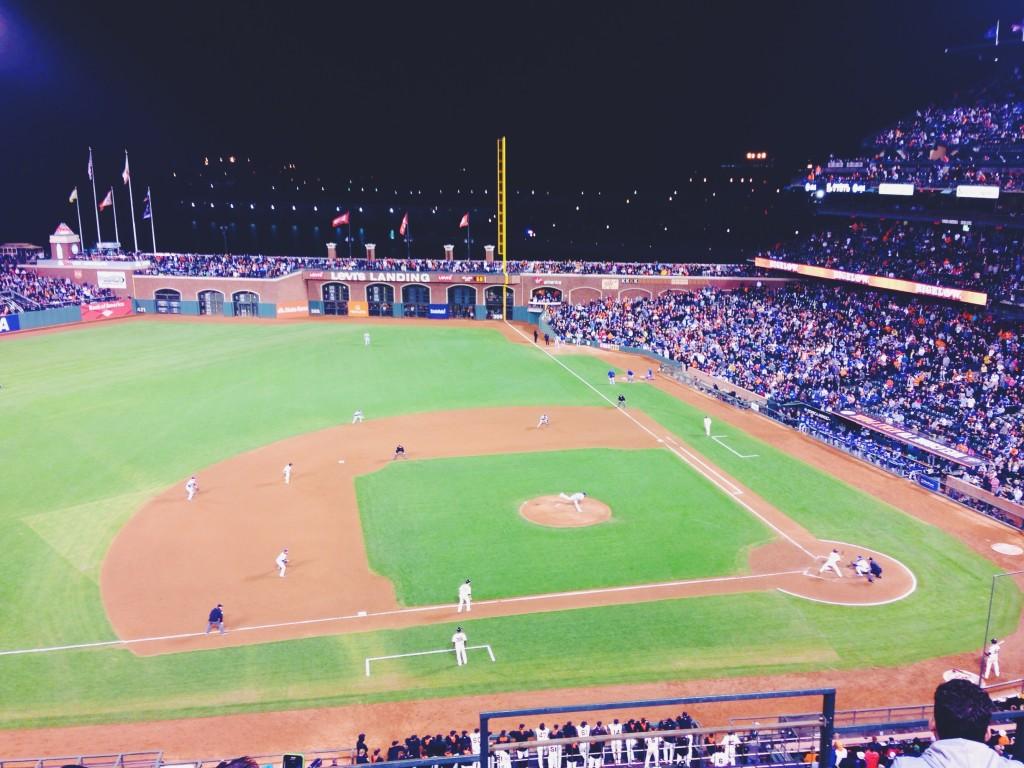 Partita di baseball San Francisco Giants contro Los Angeles Dodgers.JPG