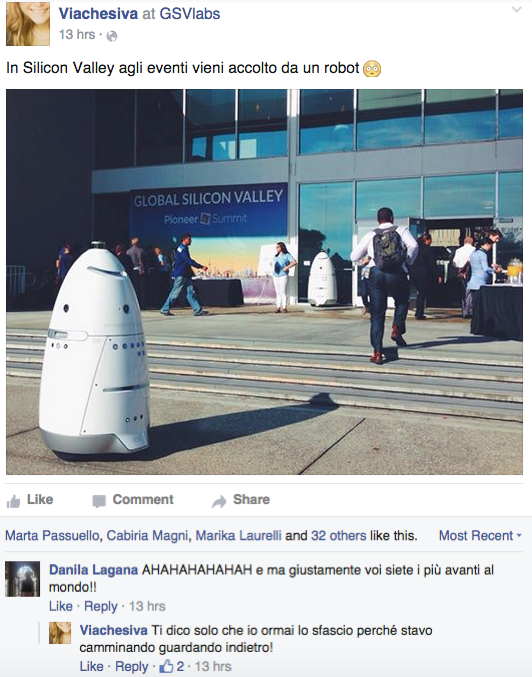 Robot in Silicon Valley