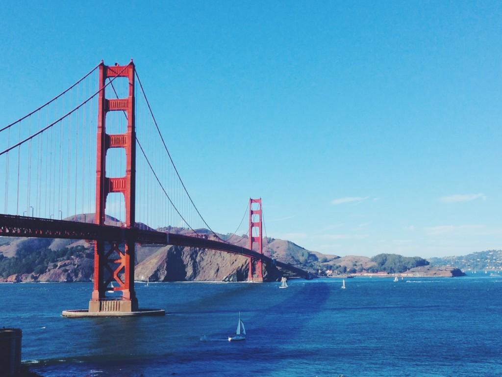Il Golden Gate Bridge che continua a dirmi che sono nel posto giusto del mondo