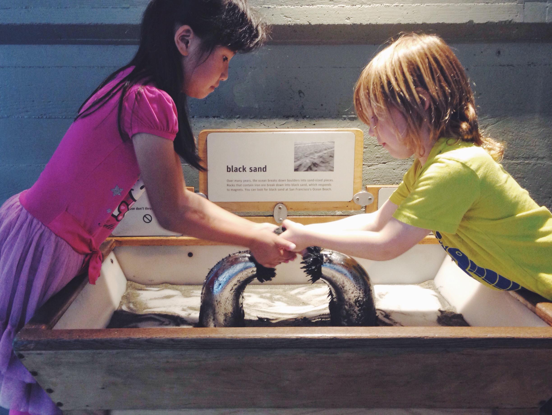 La quantità incredibile e la qualità super stimolante delle cose da fare - L'Exploratorium a San Francisco
