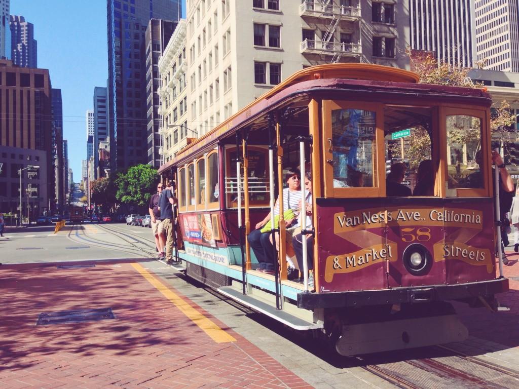 Cable car di San Francisco