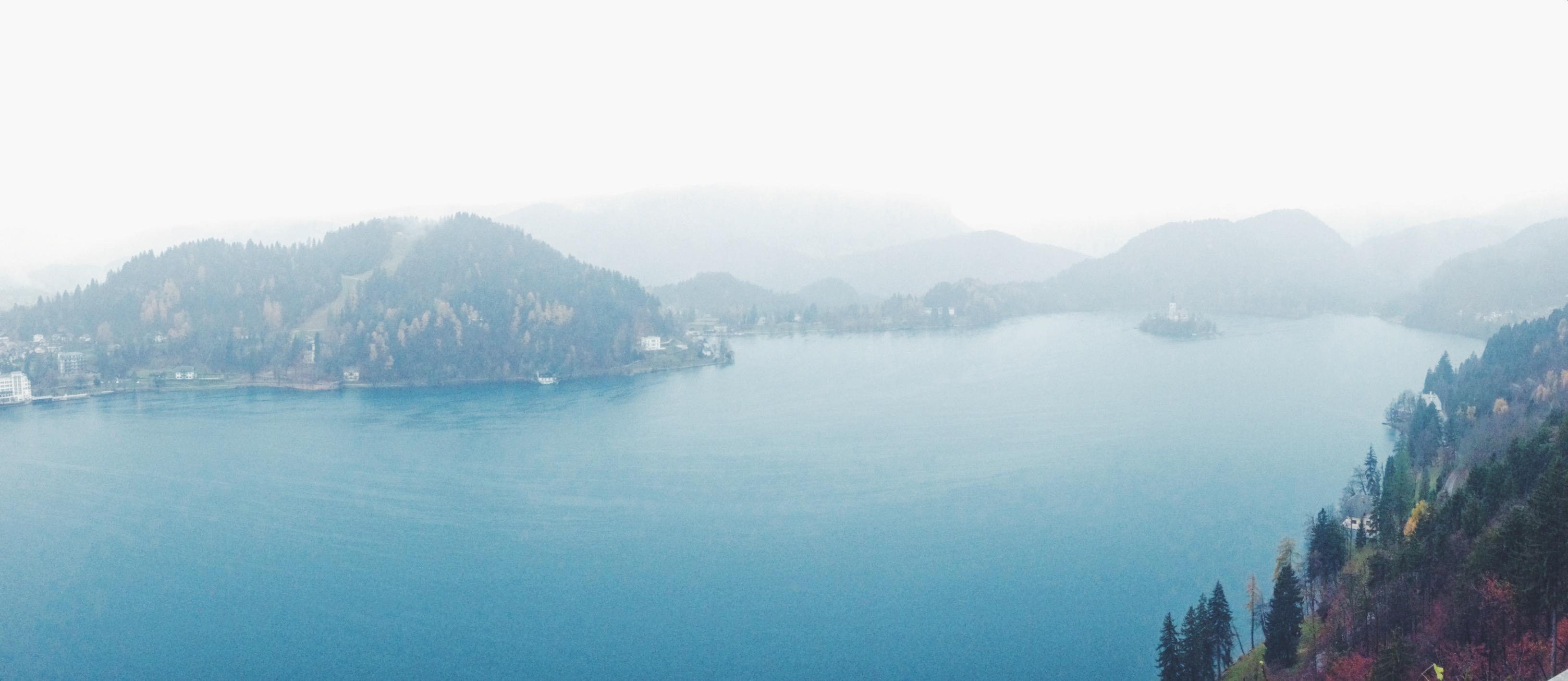 Isola in mezzo al lago in Slovenia, Bled