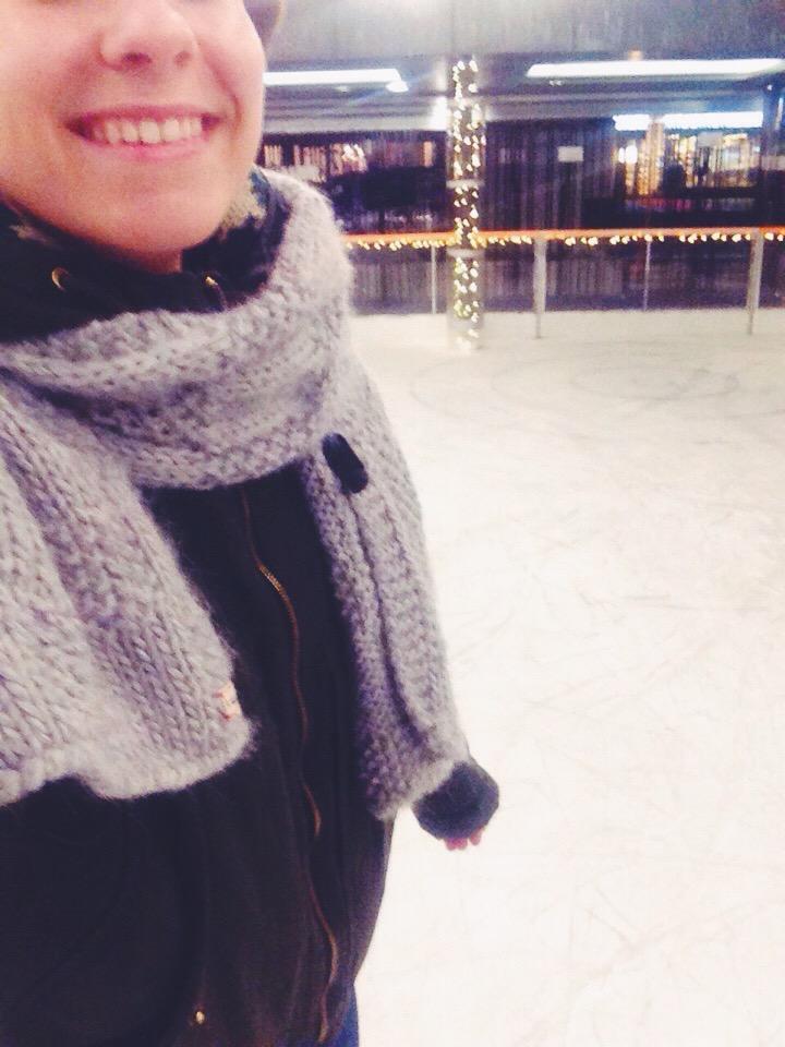 Pattinare sul ghiaccio al Kavarna Park
