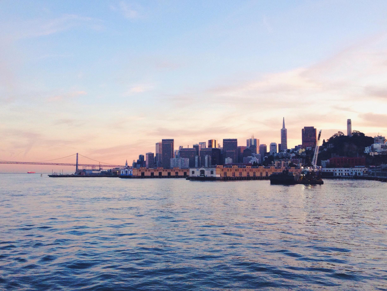 San Francisco al tramonto