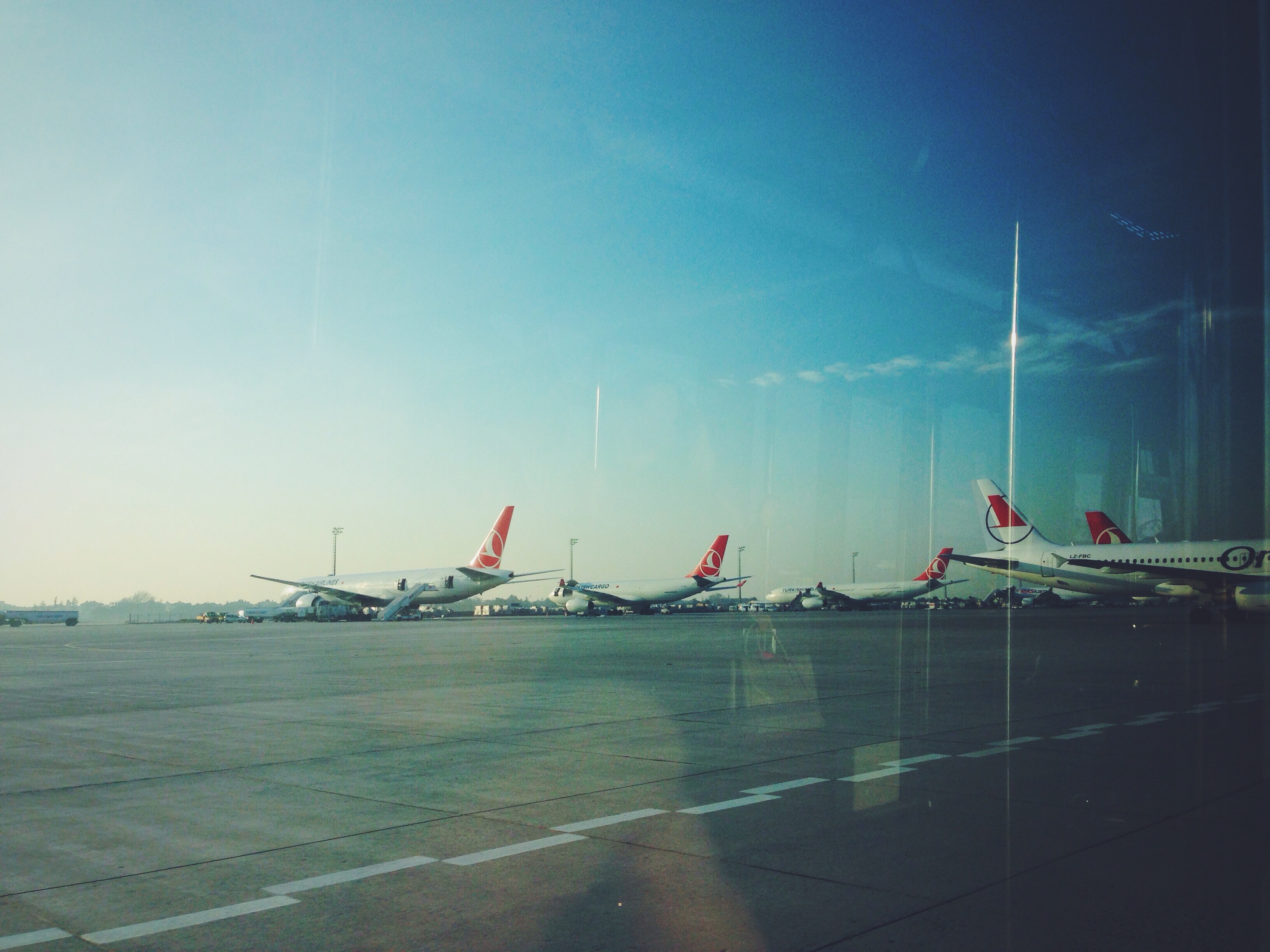 Scalo lungo con Turkish all'aeroporto di Istanbul