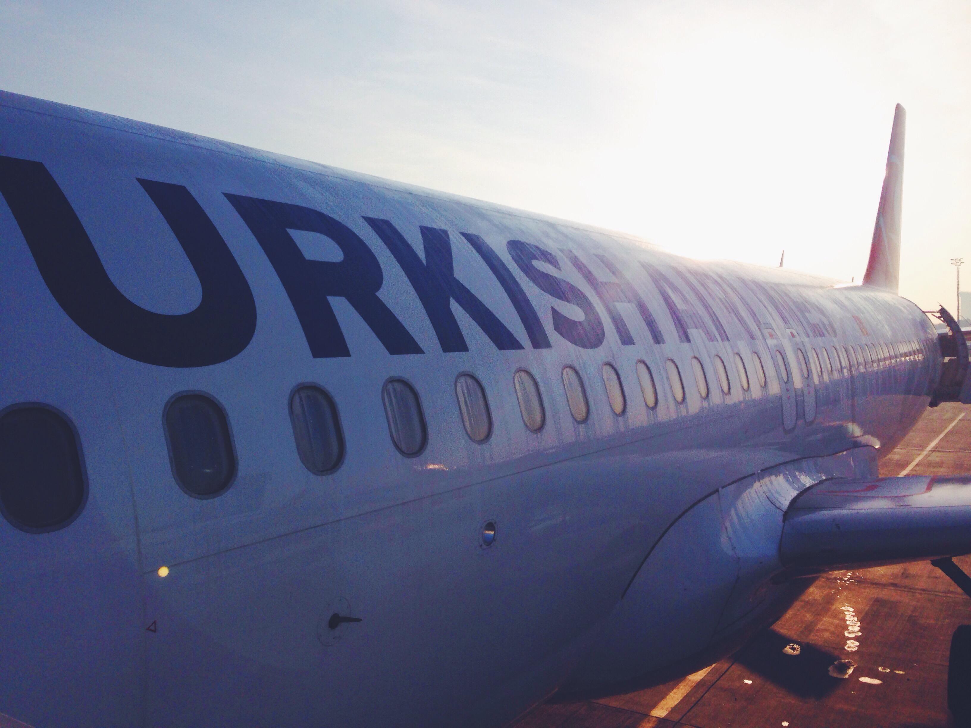 Un lungo scalo all'aeroporto di Instanbul