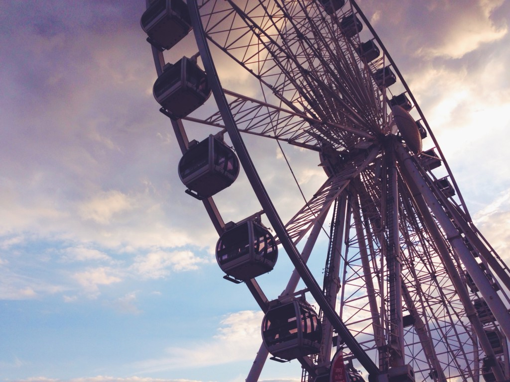 Brighton Wheel - la ruota panoramica di Brighton sul mare