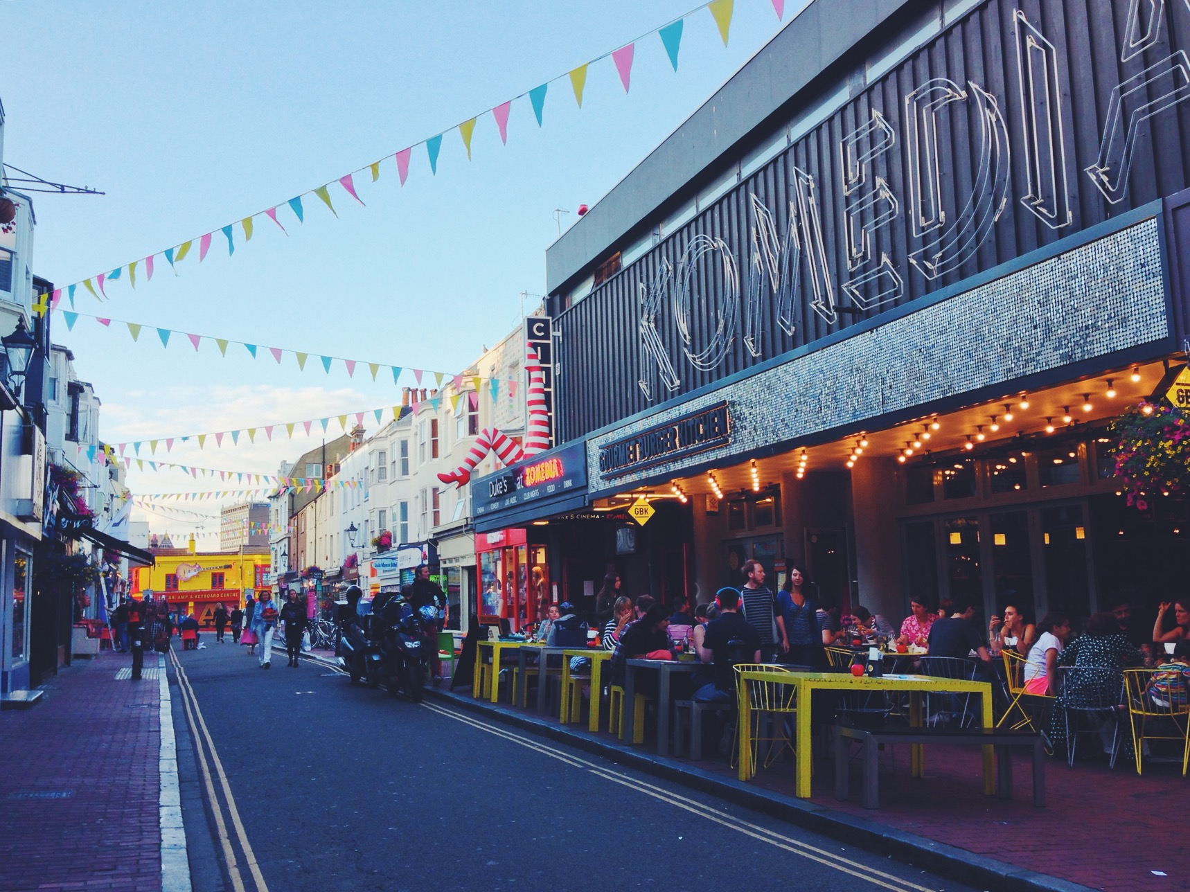 Esplorate le stradine più hipster di Brighton a North Laine