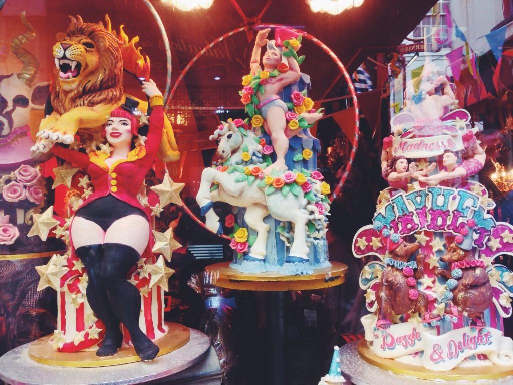 Il quartiere The Lanes di Brighton - il negozio di Cioccolato Choccywoccydoodah