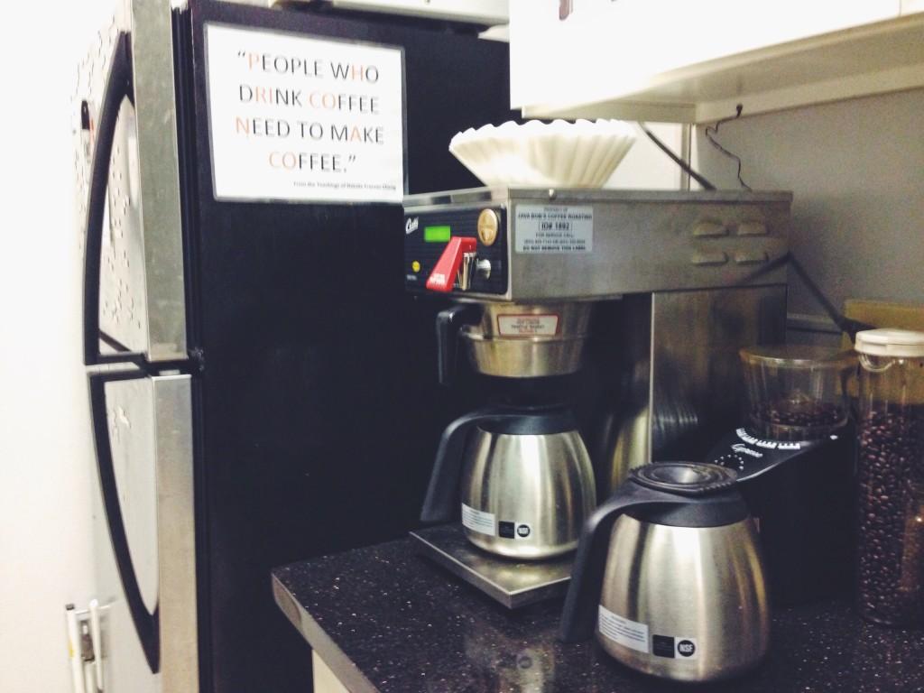 Preparare il caffè americano è il mio incubo