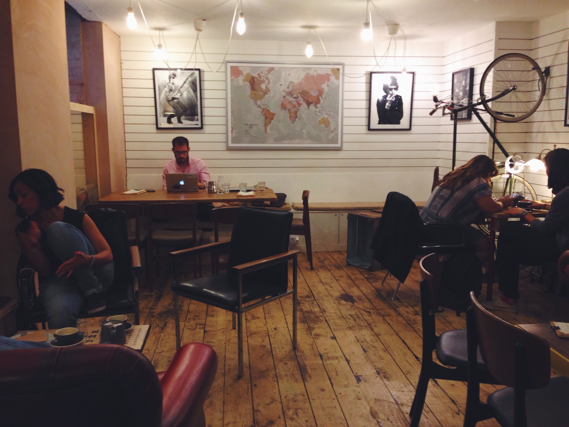 Un caffè hipster a Brighton al Bond St. Coffee