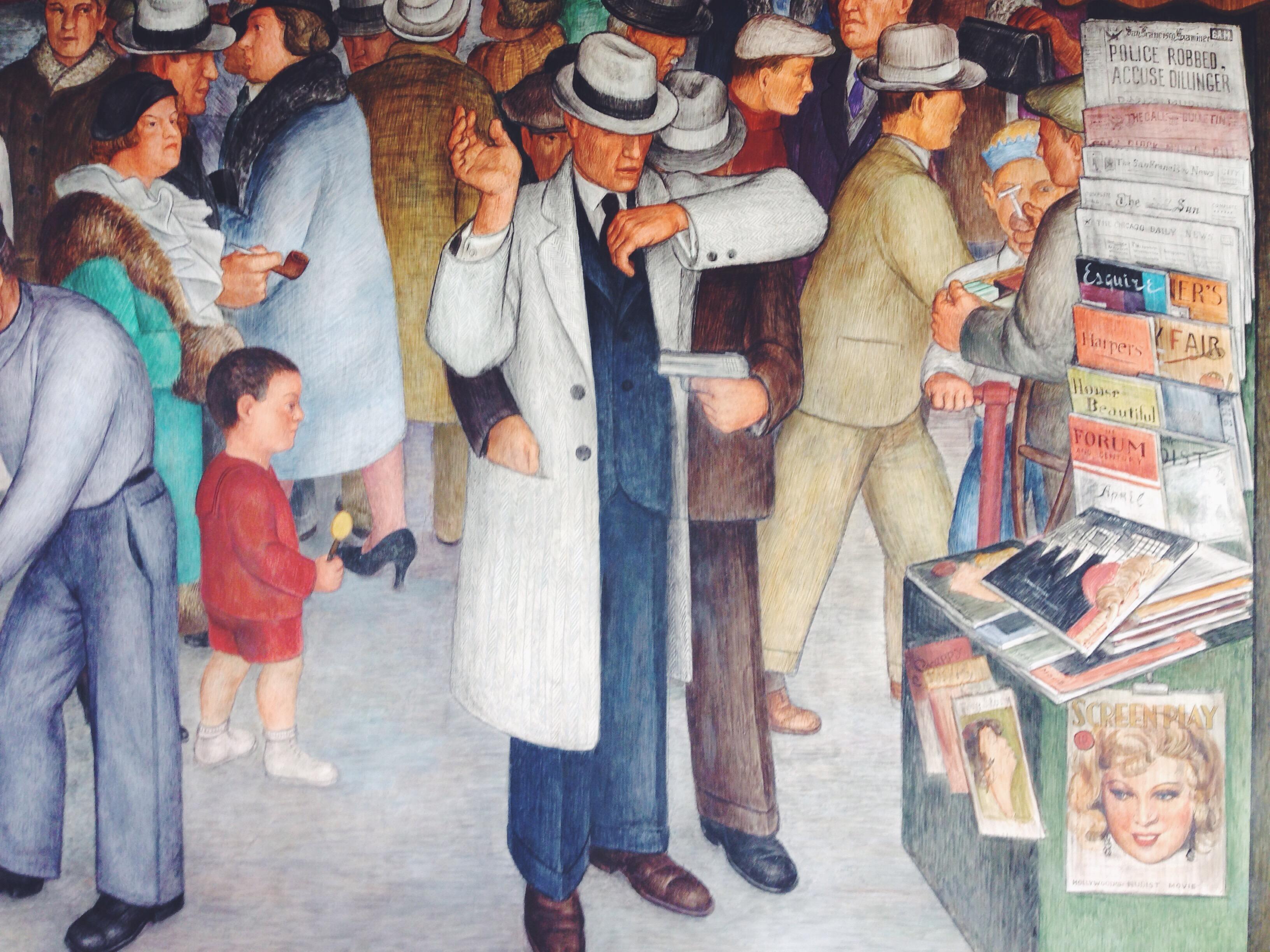 I dipinti murali della Coit Tower