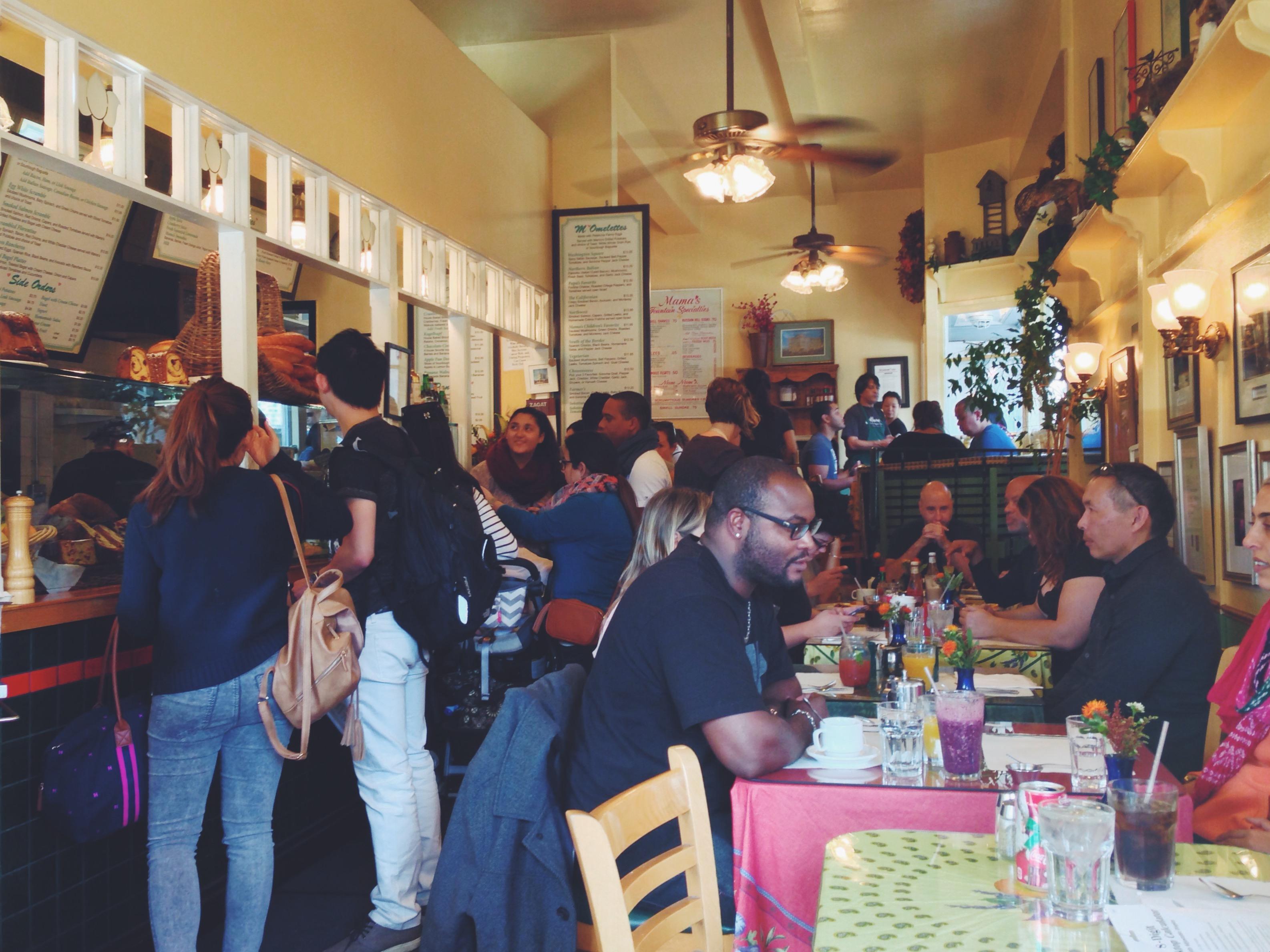 Il migliore brunch da Mama's a San Francisco