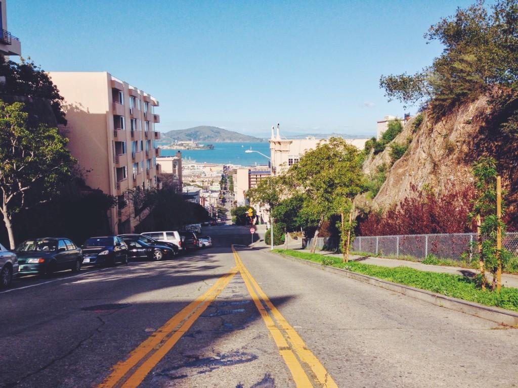 La vista da San Francisco sulla Baia