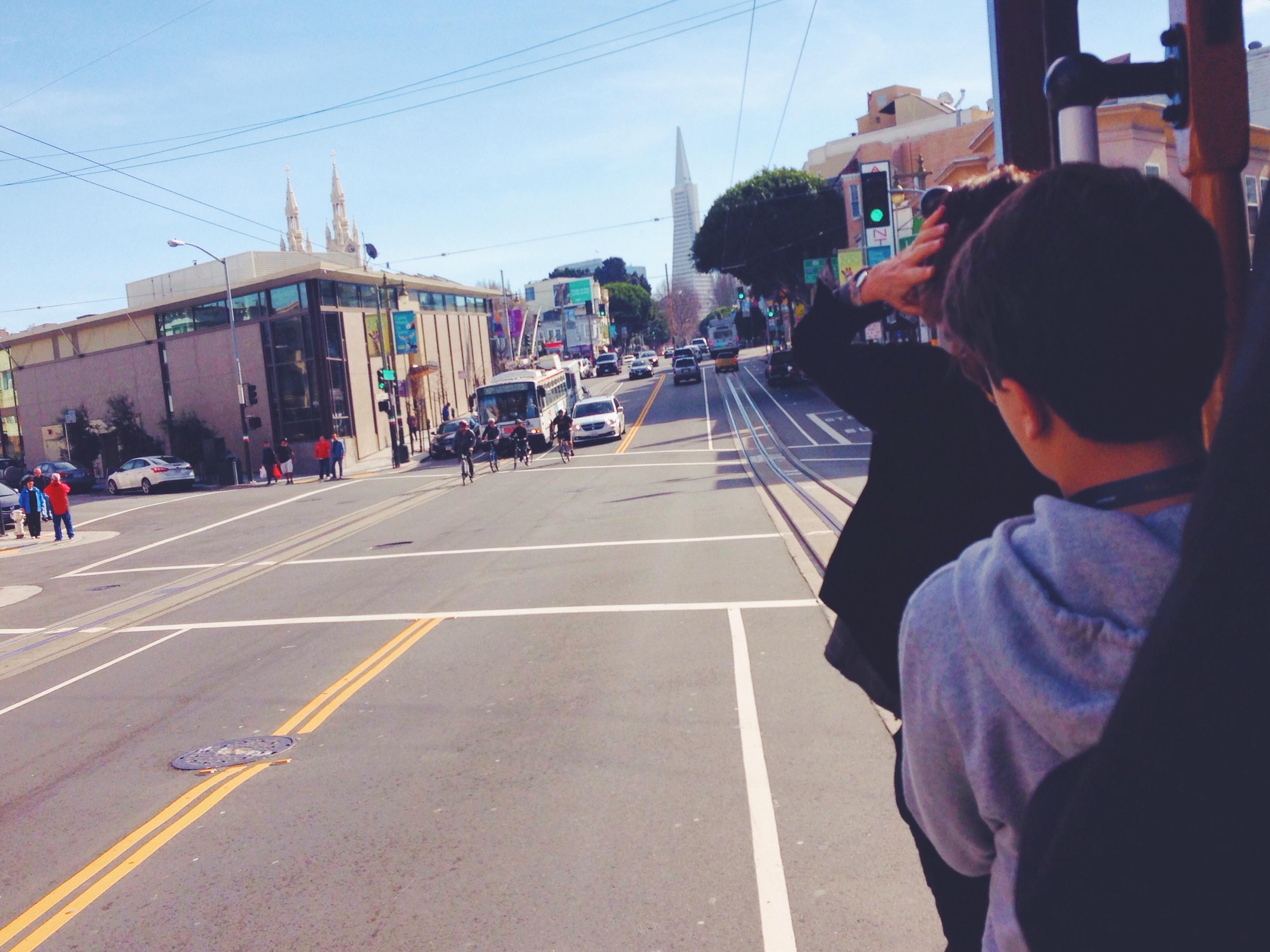 Vista dal Cable Car di San Francisco