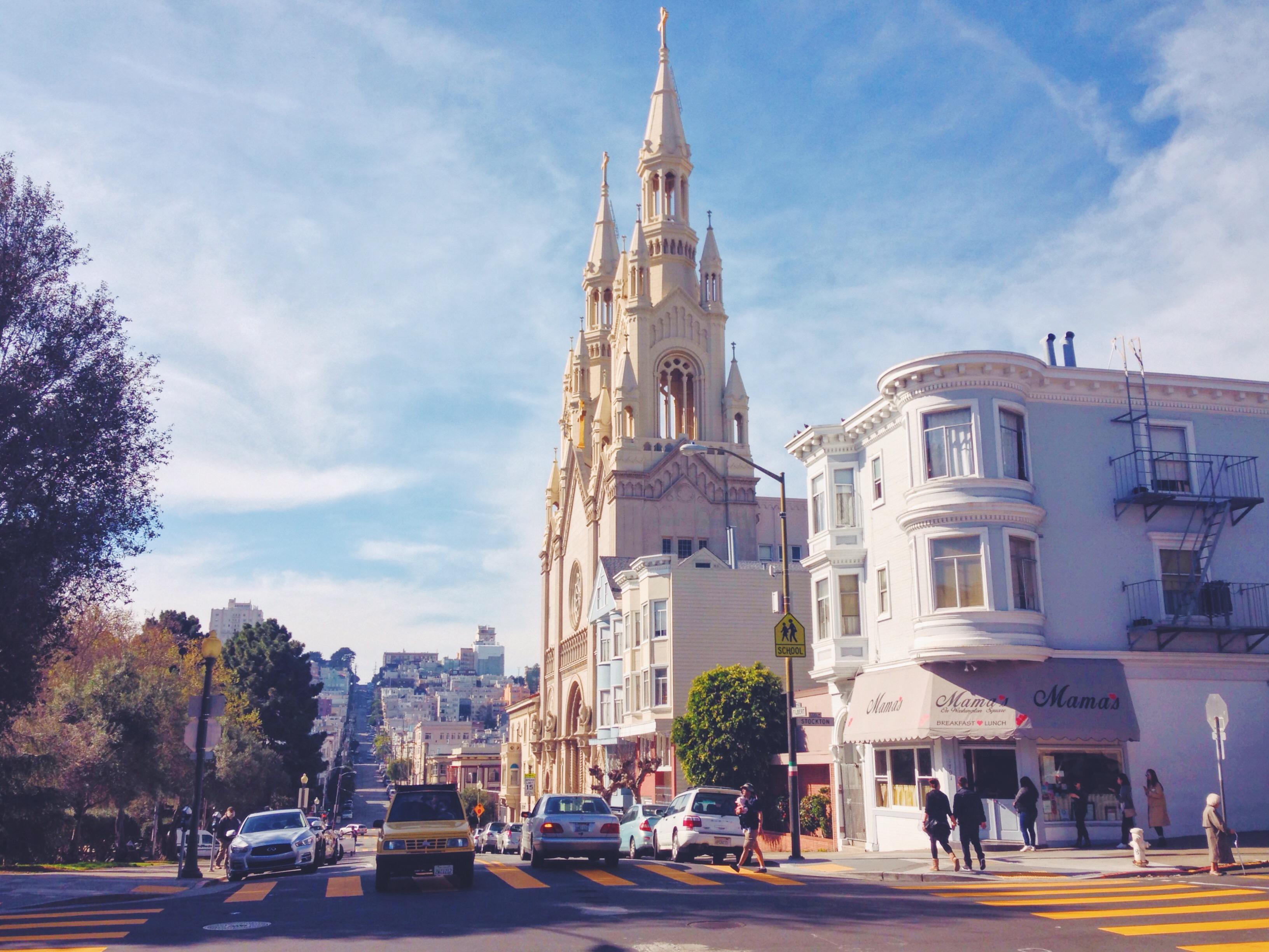 il quartiere italiano a San Francisco