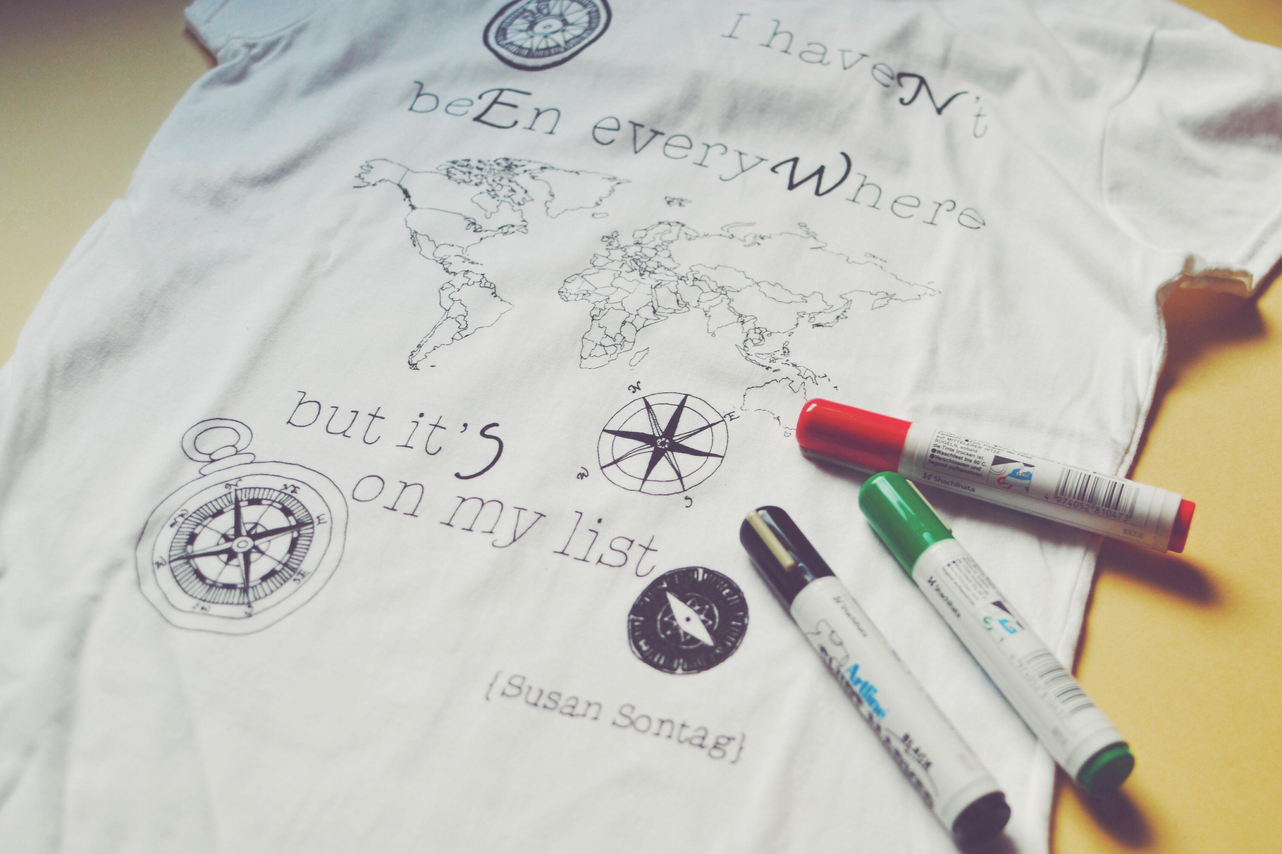 Ink Your Map - Completa la mappa con i tuoi viaggi
