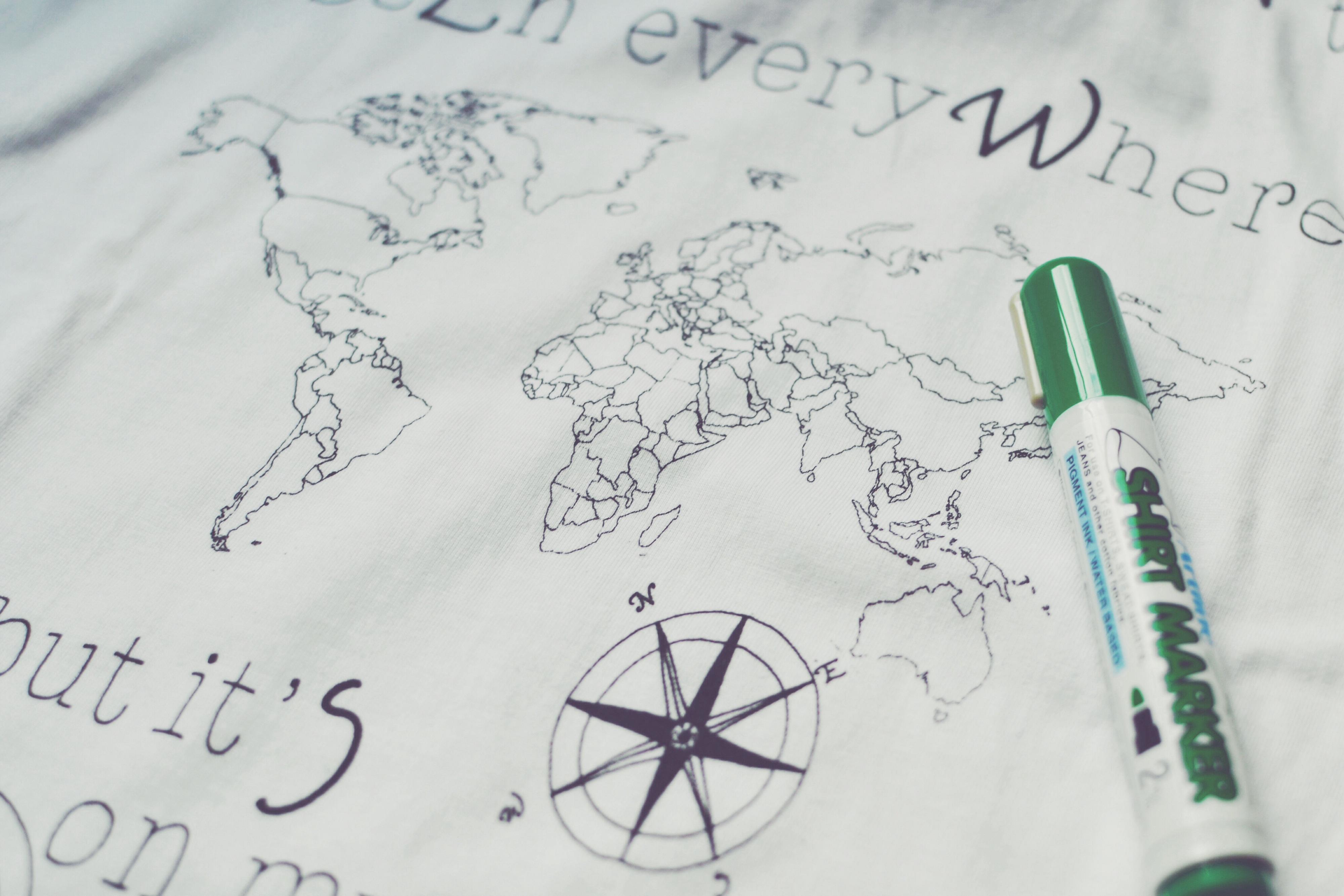 Ink Your Map - Riempi la mappa con i tuoi viaggi