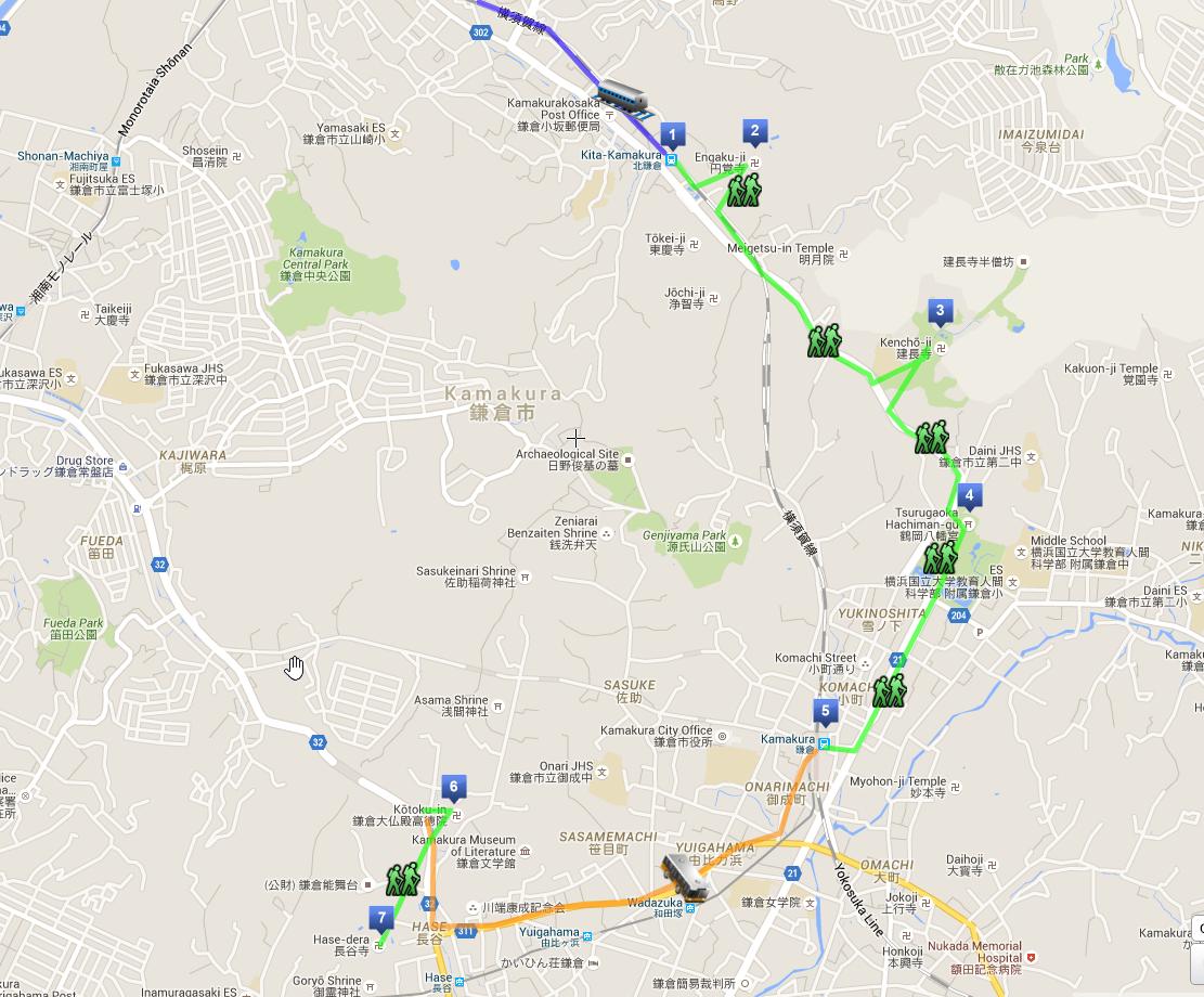 Itinerario di una giornata a Kamakura in Giappone