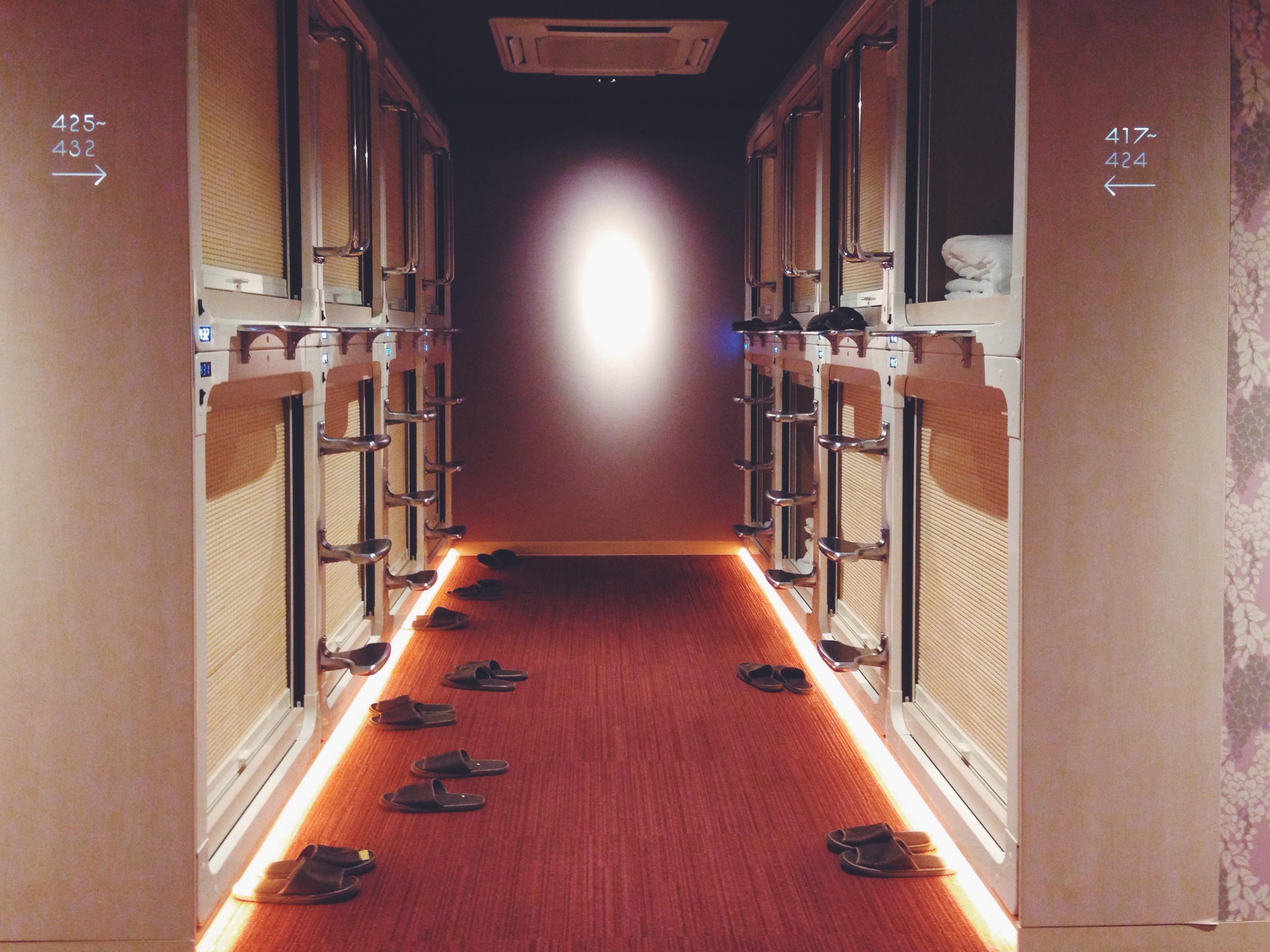 Dormire a Tokyo in Giappone nei caspule hotel