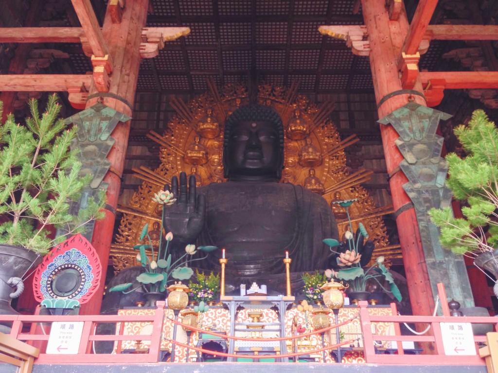Il Buddha Gigante del tempio Todai-ji