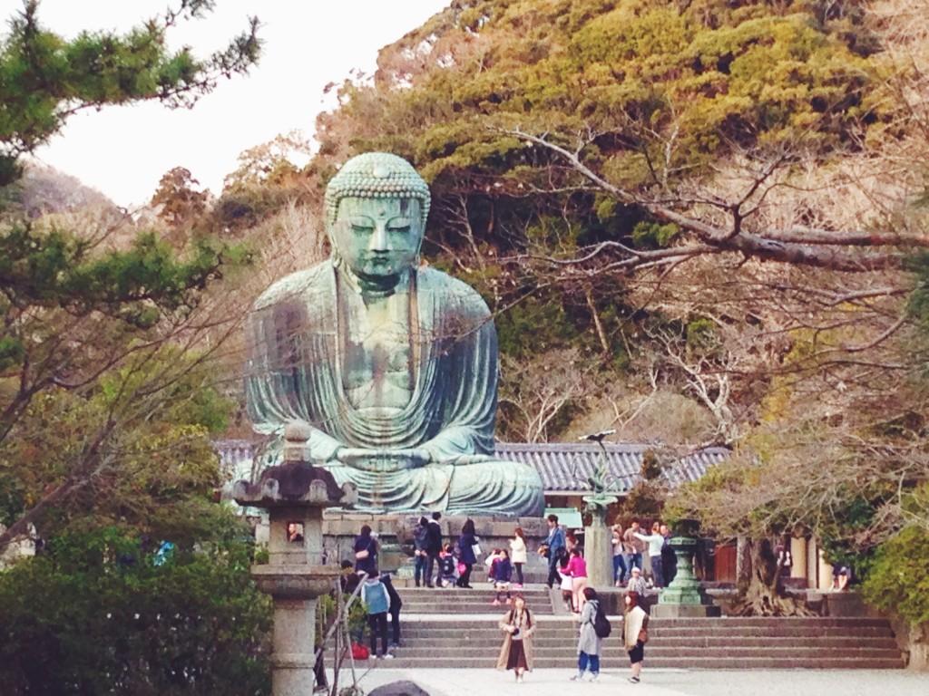 Il Grande Buddha Daibutsu di Kamakura