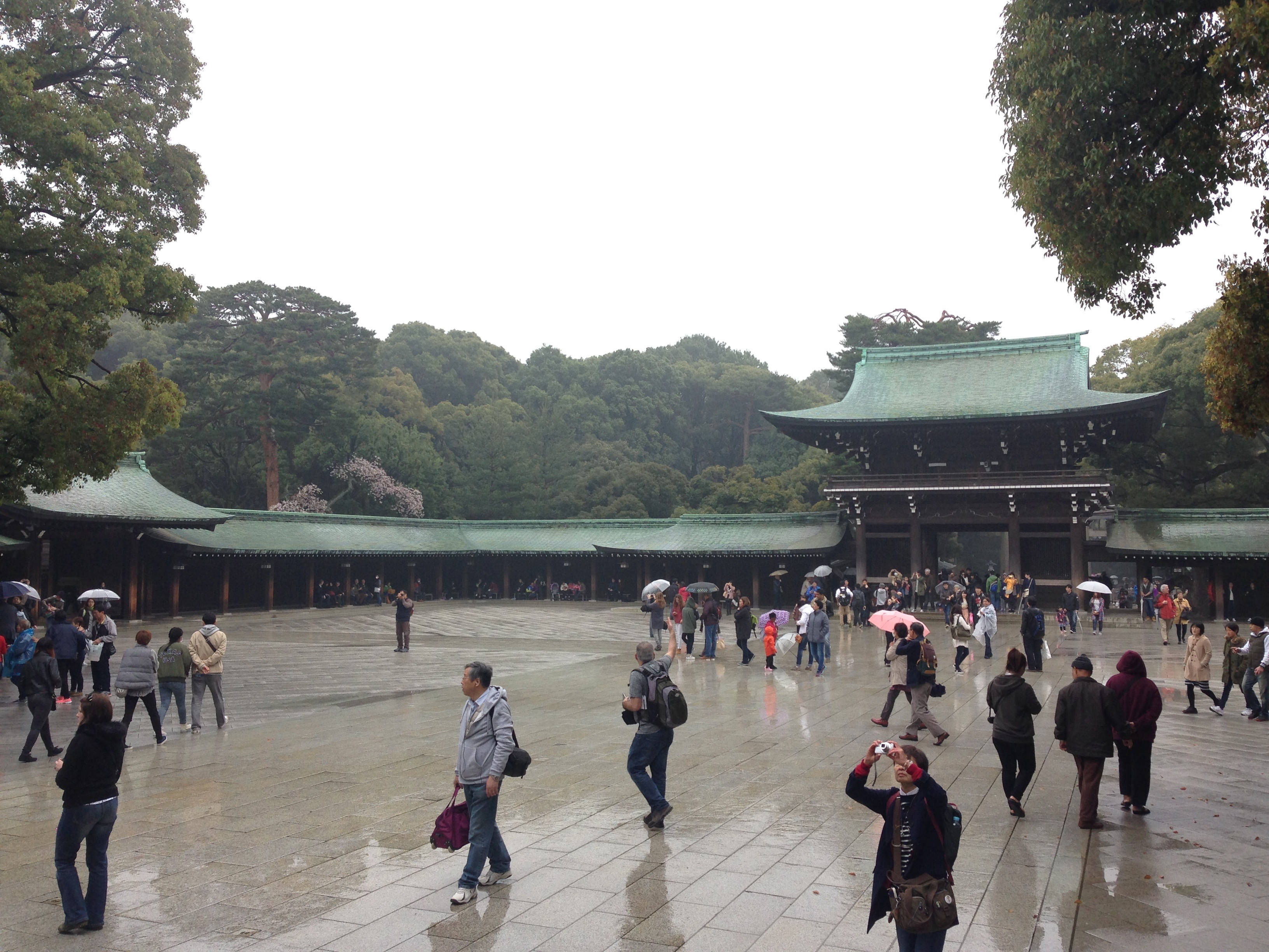 Il Tempio Meiji-ju